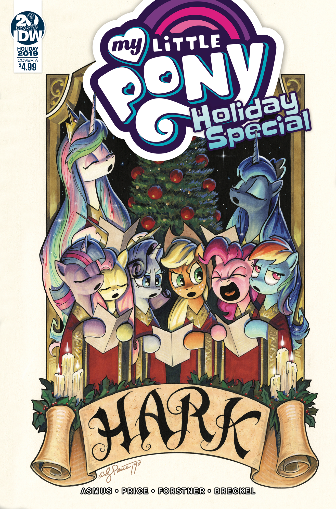 MY LITTLE PONY HOLIDAY SPECIAL CVR A PRICE