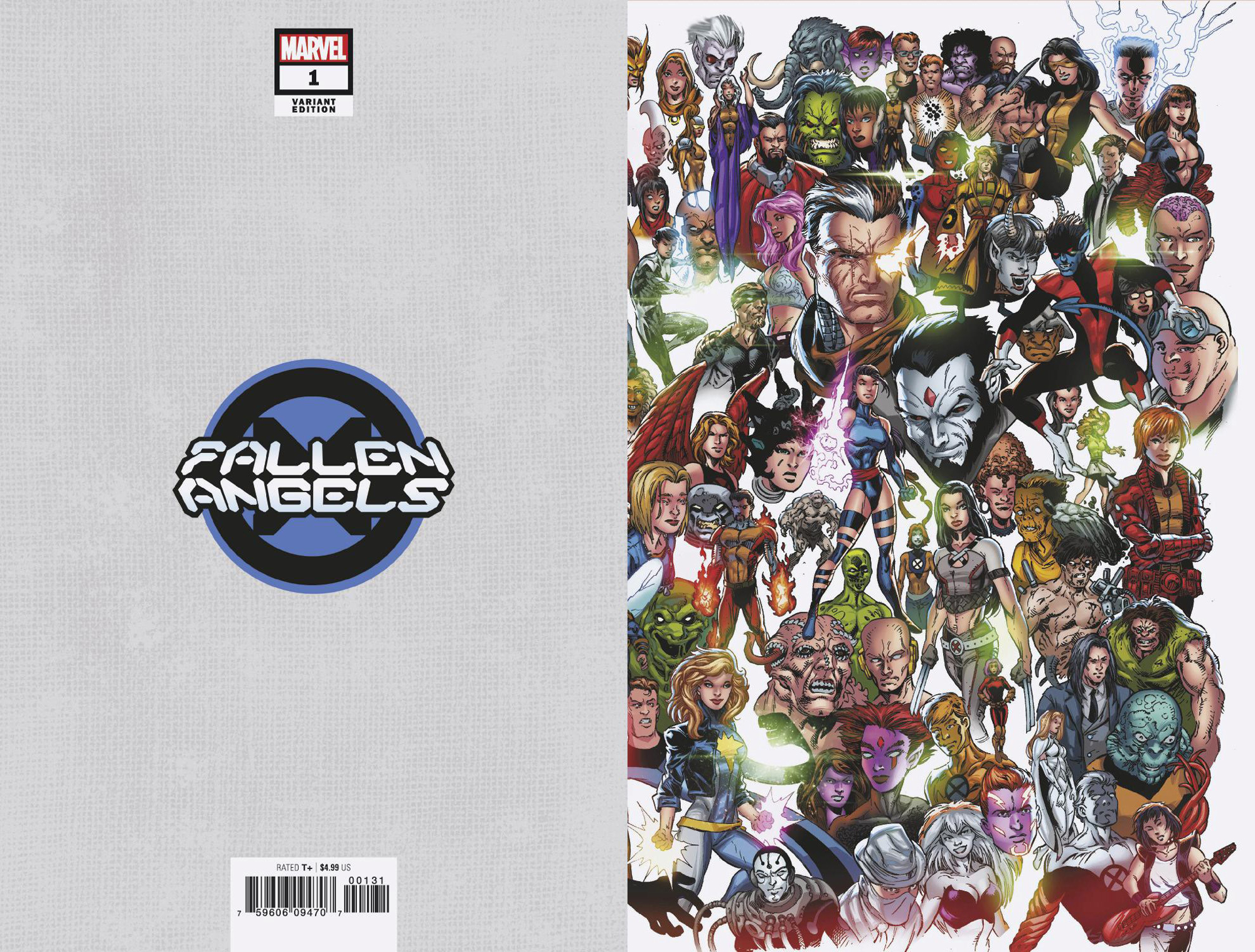 FALLEN ANGELS #1 BAGLEY EVERY MUTANT EVER VAR DX