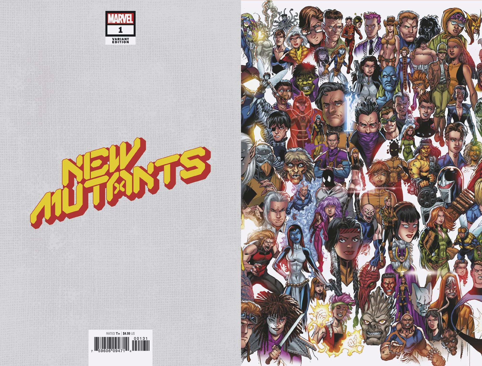 NEW MUTANTS #1 BAGLEY EVERY MUTANT EVER VAR DX