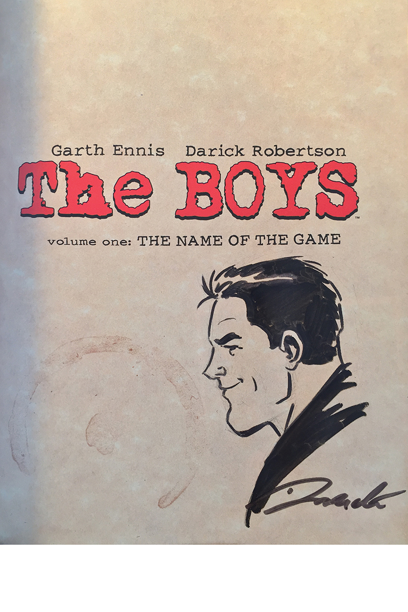 BOYS OMNIBUS TP VOL 01 ROBERTSON SGN & REMARKED ED (MR)