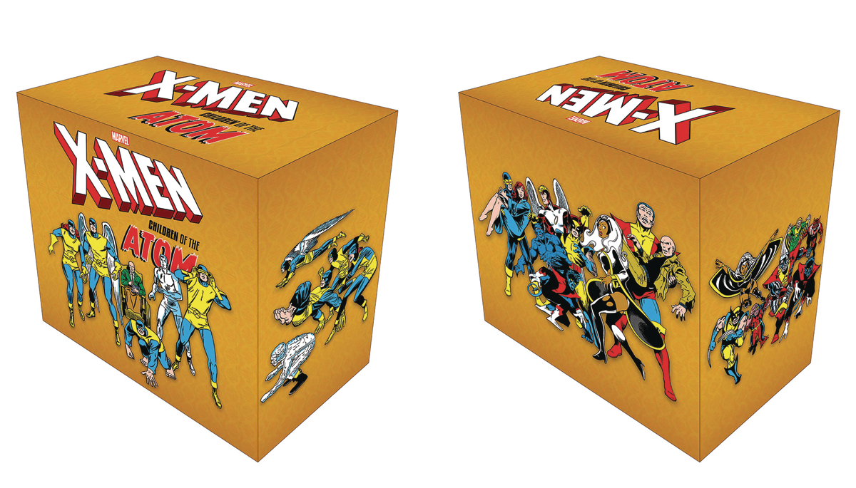 X-MEN CHILDREN OF ATOM HC BOX SET SLIPCASE