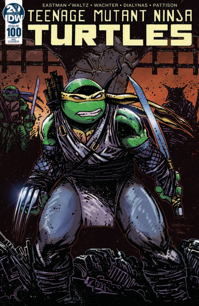 DF TMNT #100 DYNAMIC FORCES EASTMAN EXC