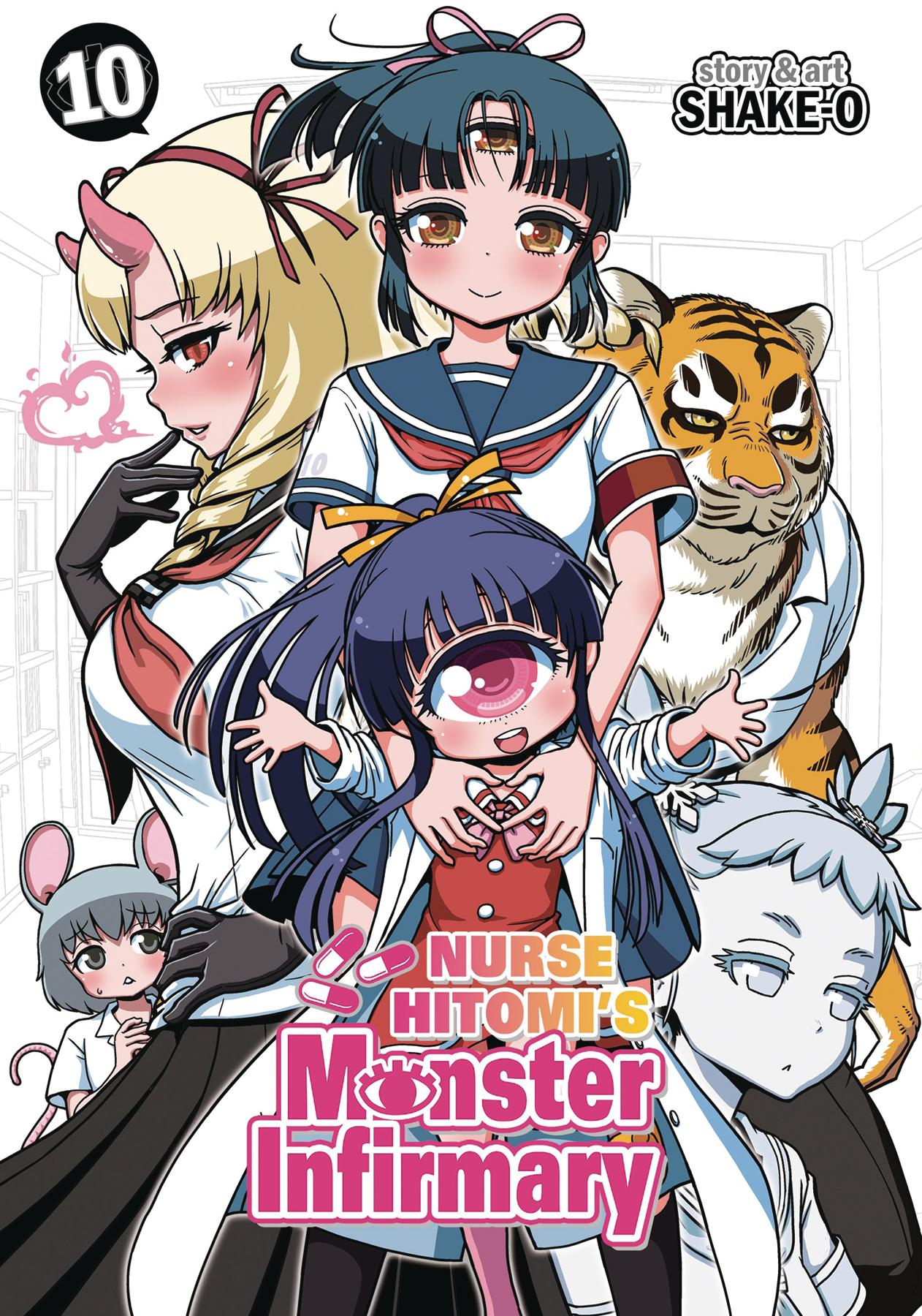 NURSE HITOMIS MONSTER INFIRMARY GN VOL 10 (MR)