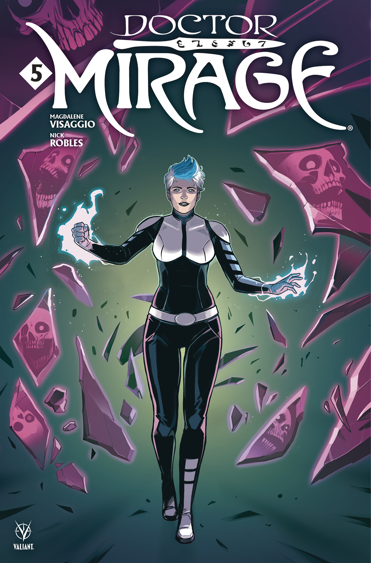 DOCTOR MIRAGE #5 (OF 5) CVR B WIJNGAARD