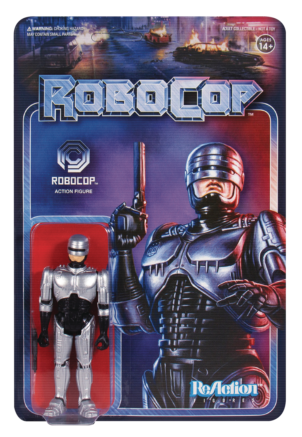 ROBOCOP ROBOCOP REACTION FIGURE