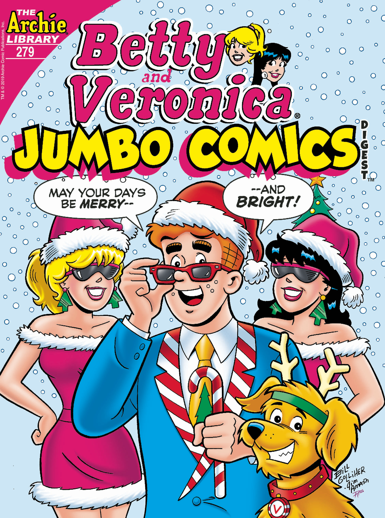 BETTY & VERONICA JUMBO COMICS DIGEST #279