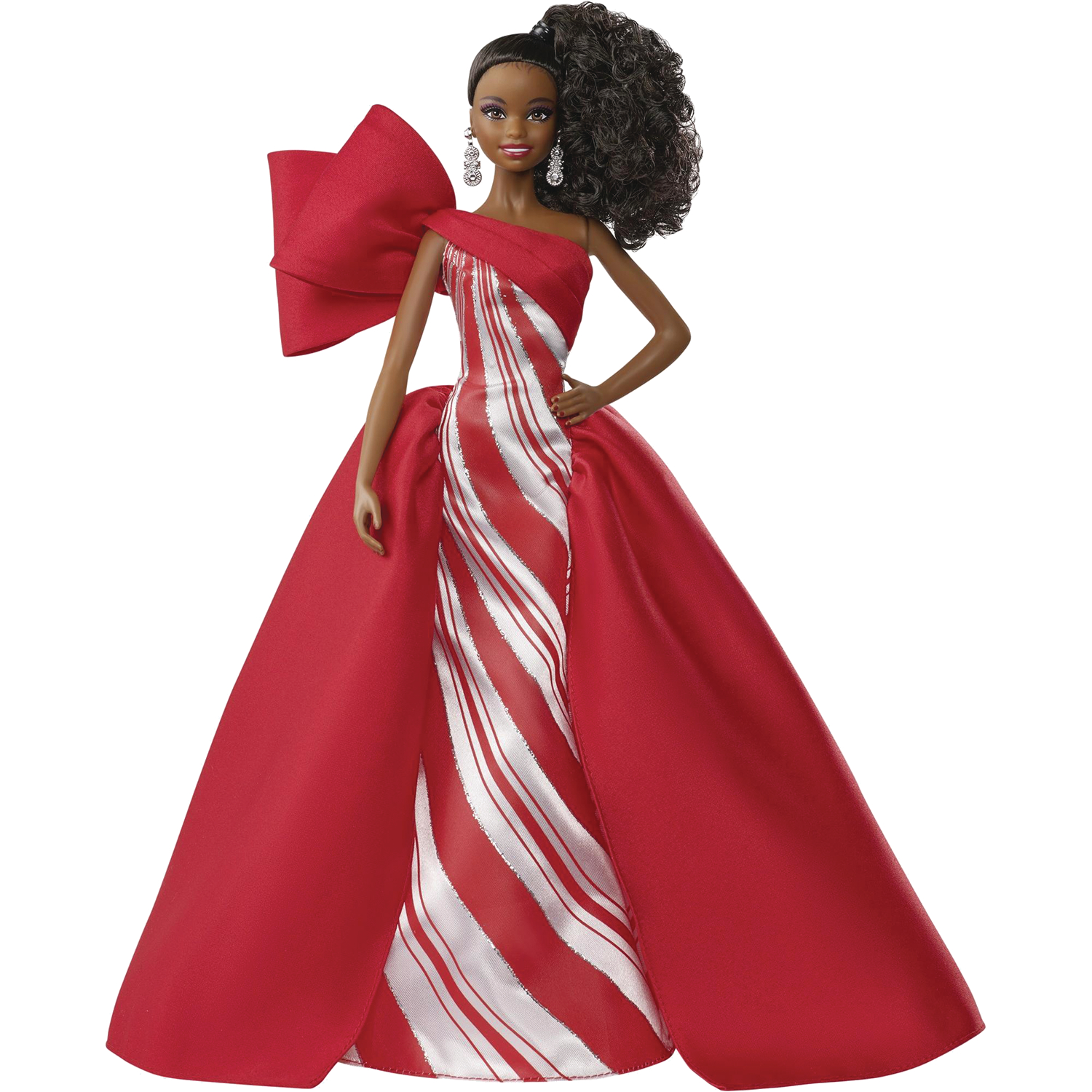 BARBIE 2019 HOLIDAY COLL DOLL AA VERSION CS