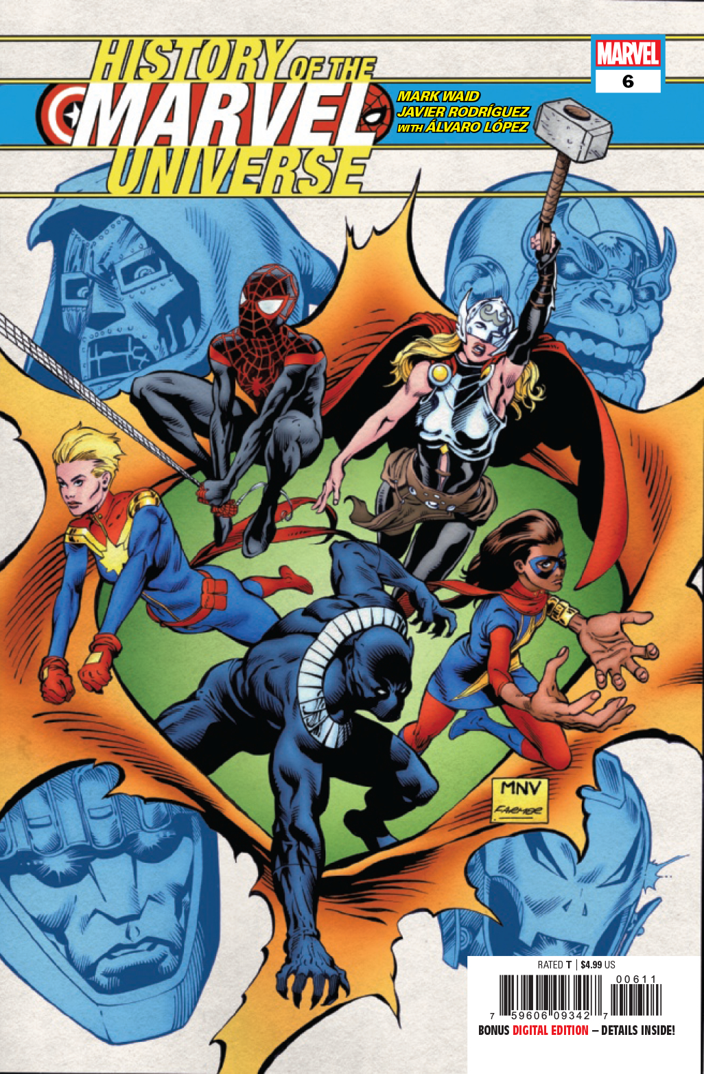 HISTORY OF MARVEL UNIVERSE #6 (OF 6)
