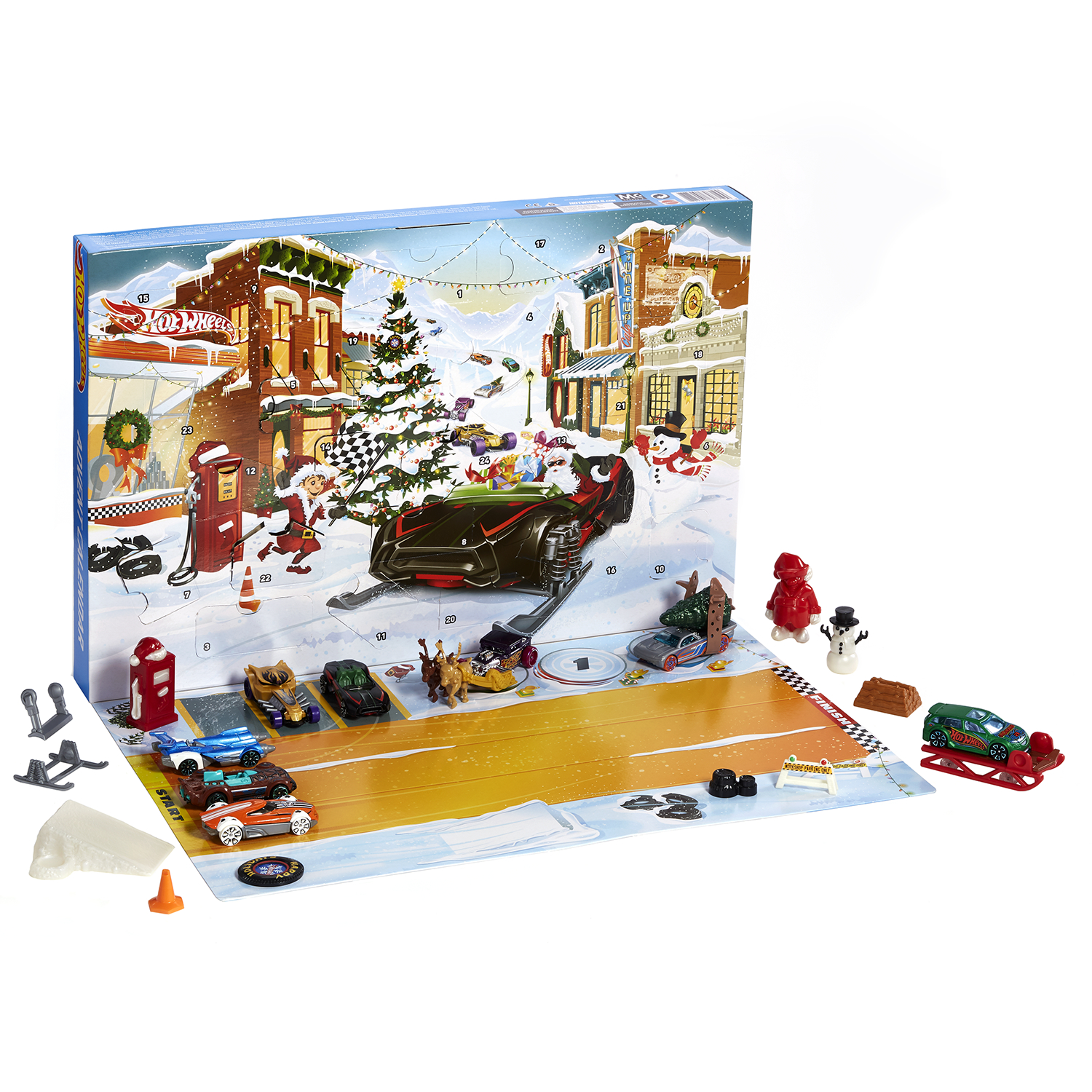 HOT WHEELS VEHICLE ADVENT CALENDAR CS
