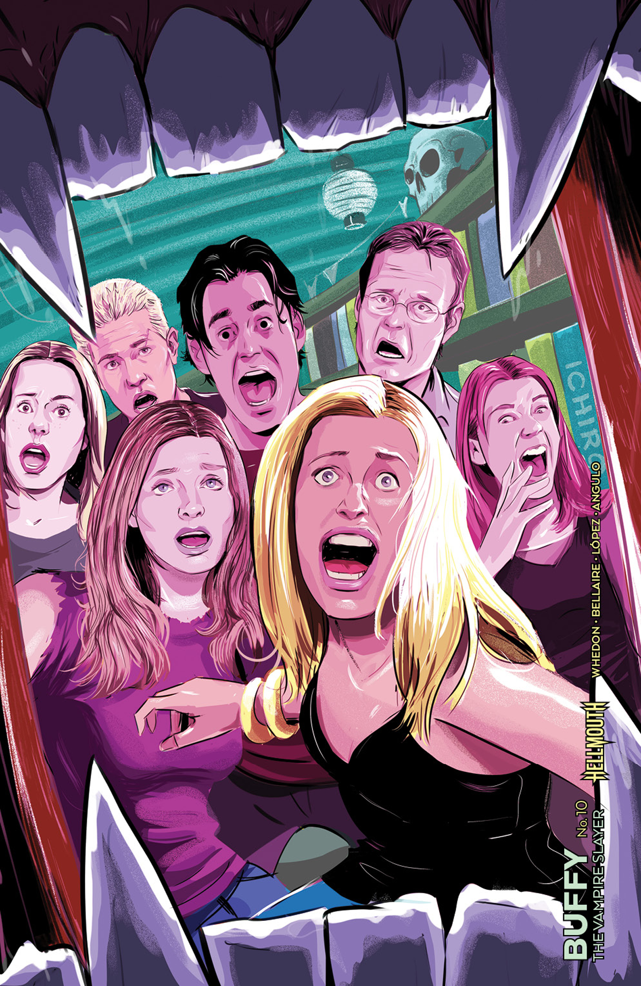 BUFFY THE VAMPIRE SLAYER #10 CVR D PREORDER INZANA VAR