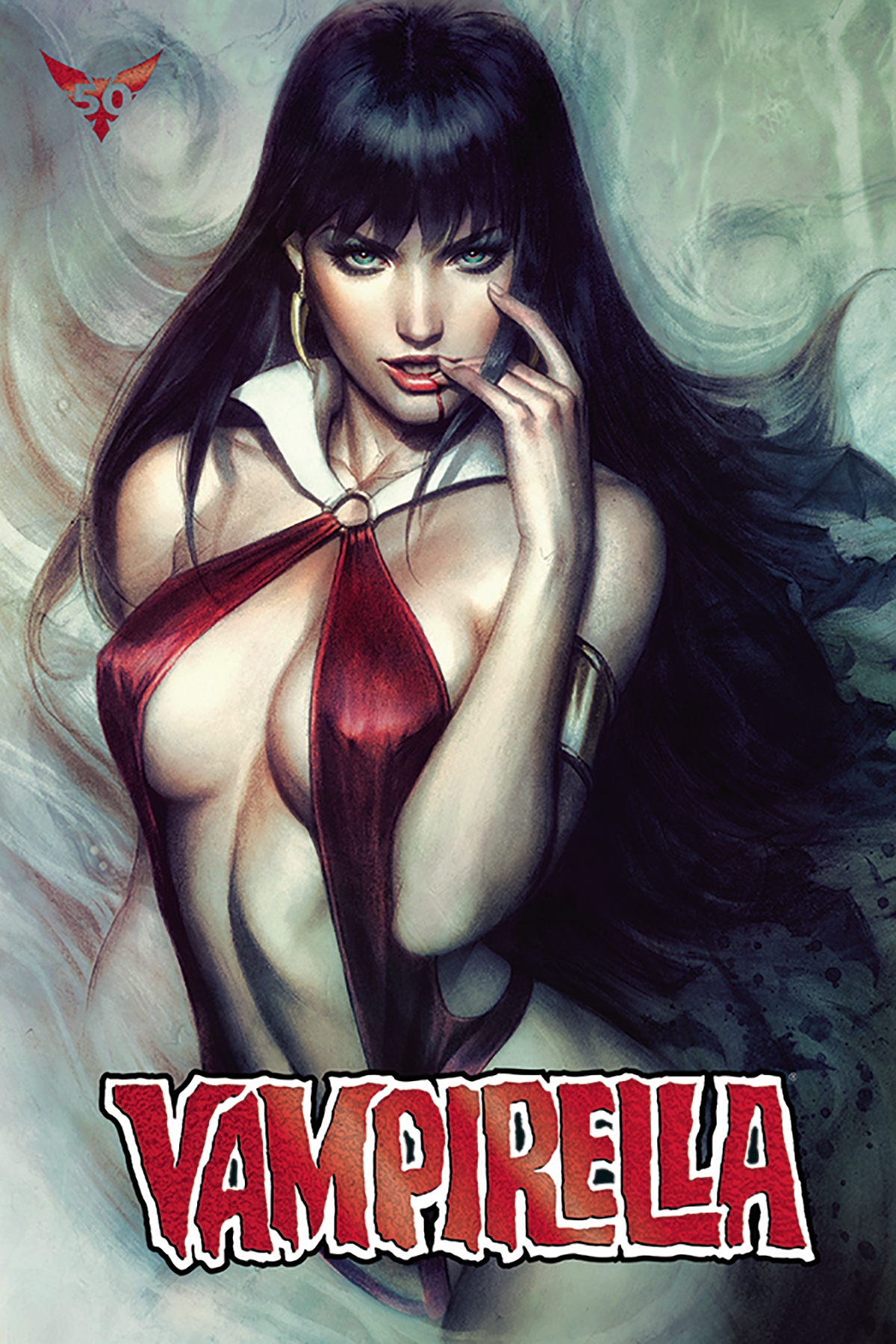 VAMPIRELLA #6 ARTGERM ULTRA LTD RED FOIL VAR