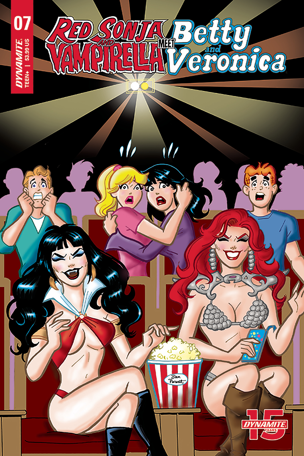 RED SONJA VAMPIRELLA BETTY VERONICA #7 CVR D PARENT