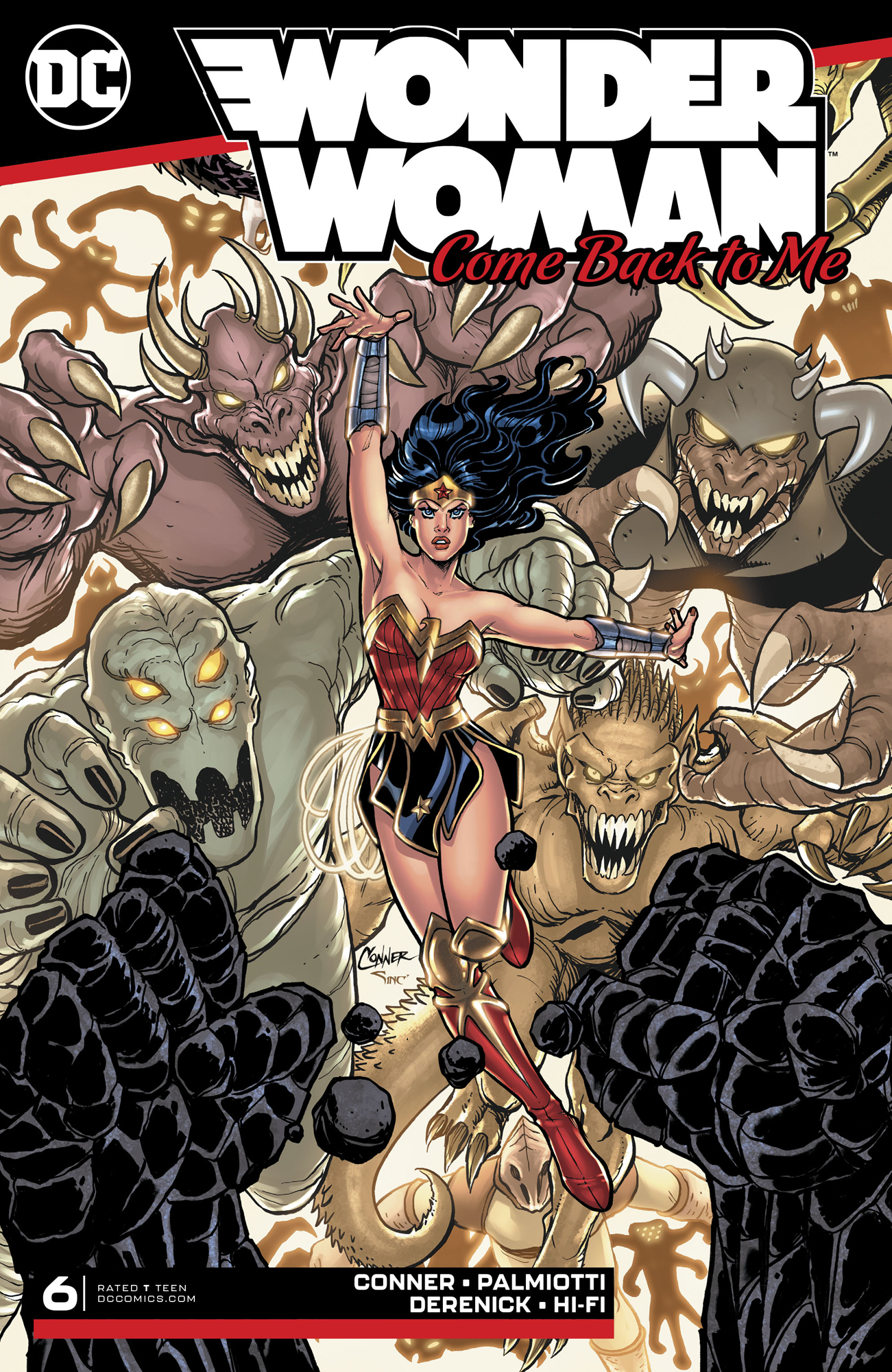 WONDER WOMAN COME BACK TO ME #6 (OF 6)