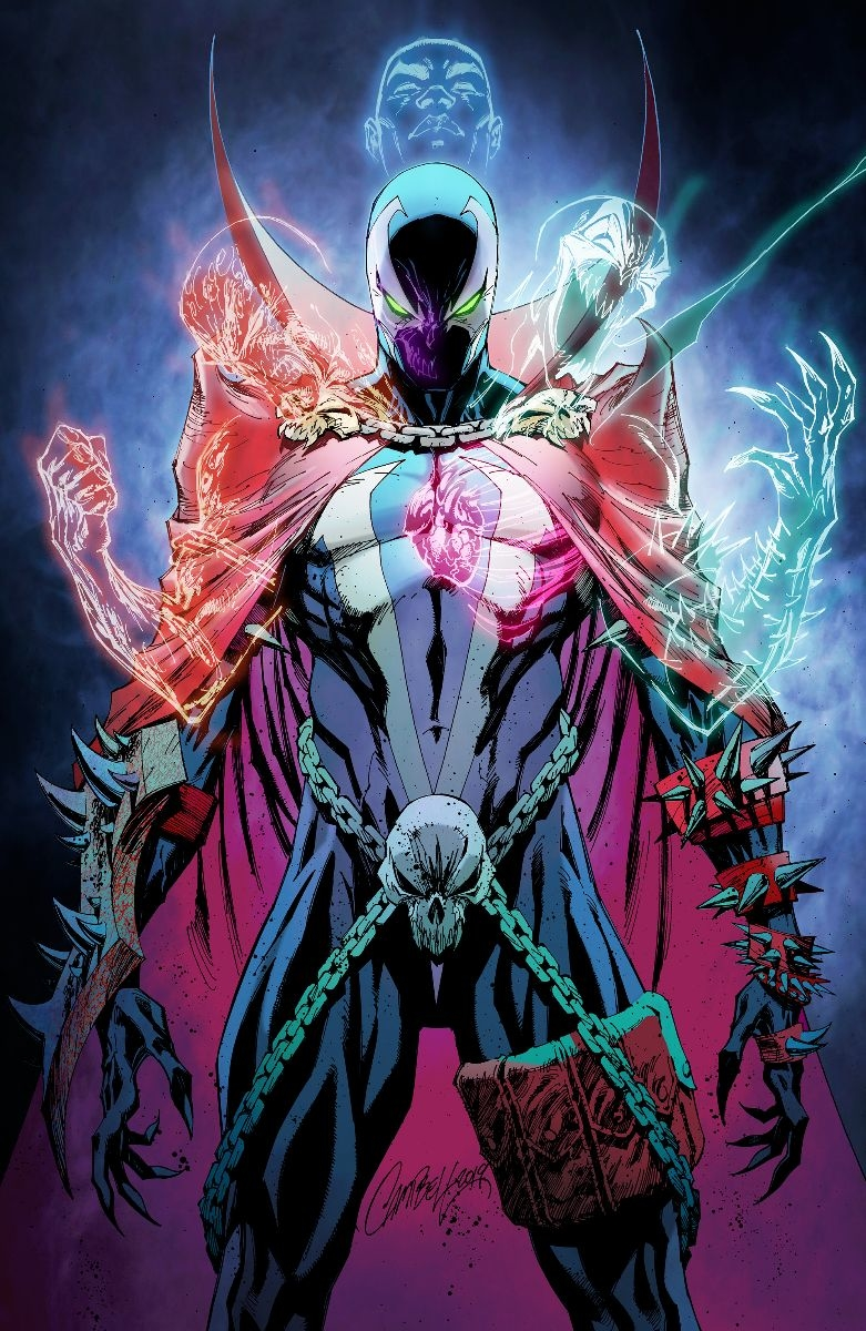 SPAWN #301 CVR P VIRGIN CAMPBELL