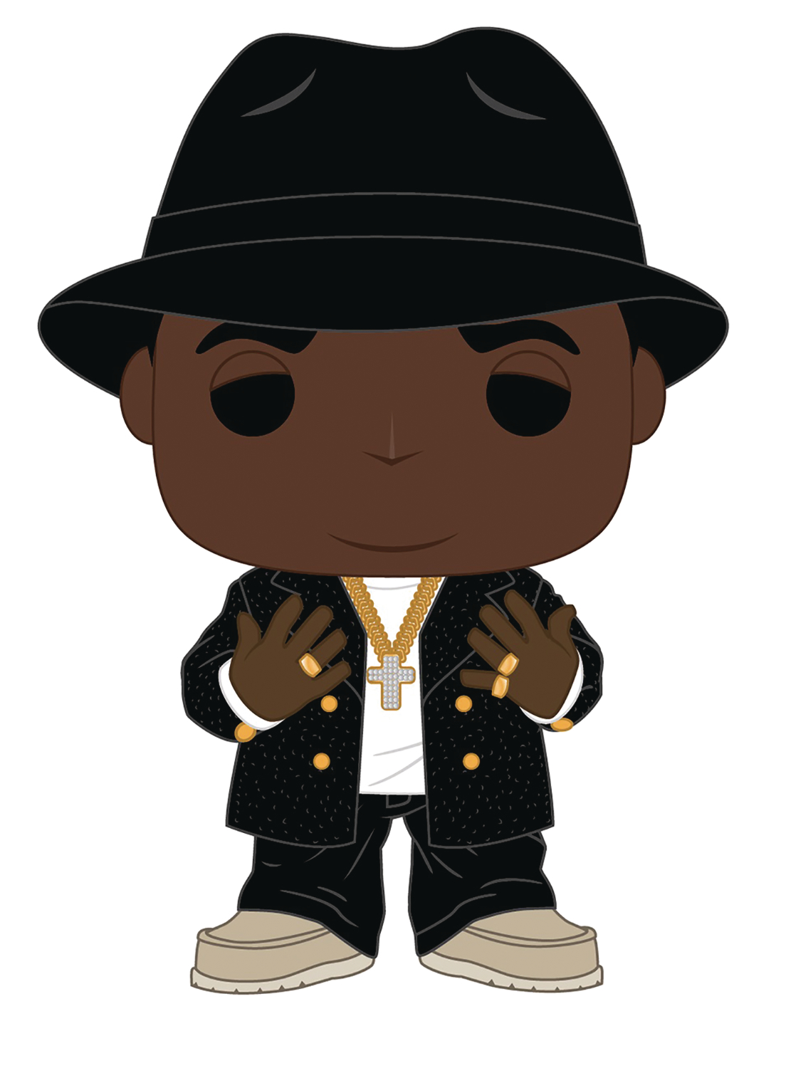 POP ROCKS BIGGIE NOTORIOUS BIG VINYL FIGURE