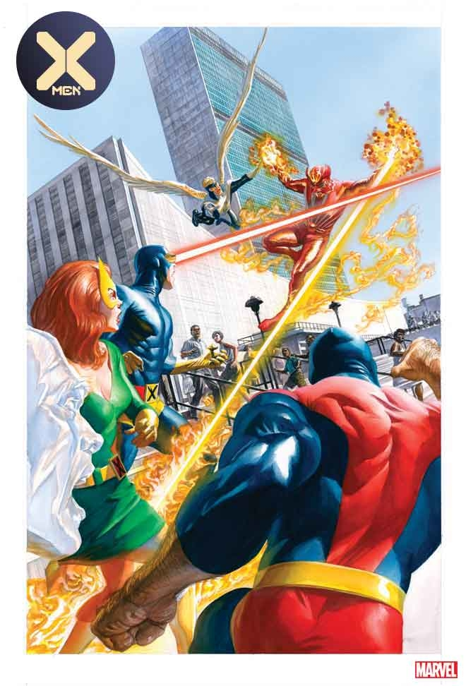 X-MEN #3 ALEX ROSS MARVELS 25TH VAR DX