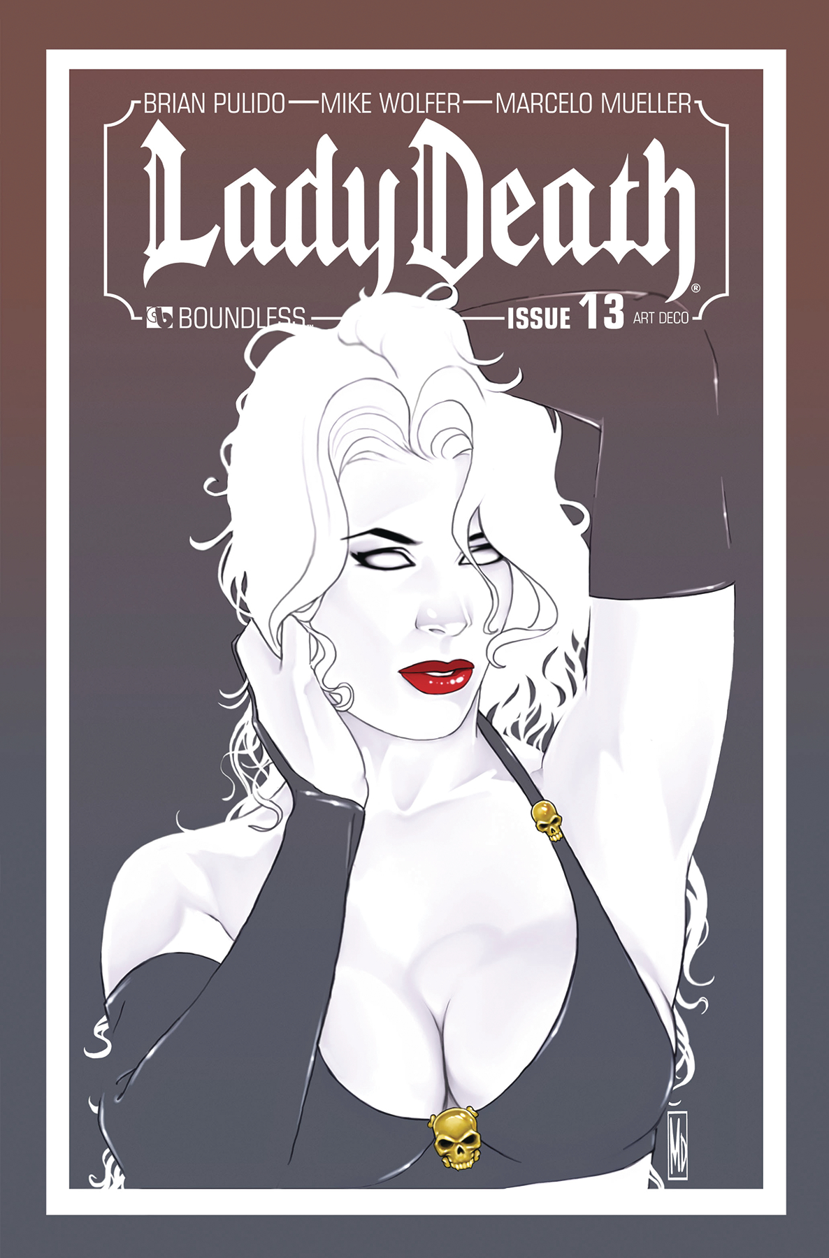 LADY DEATH #13 ART DECO VARIANT