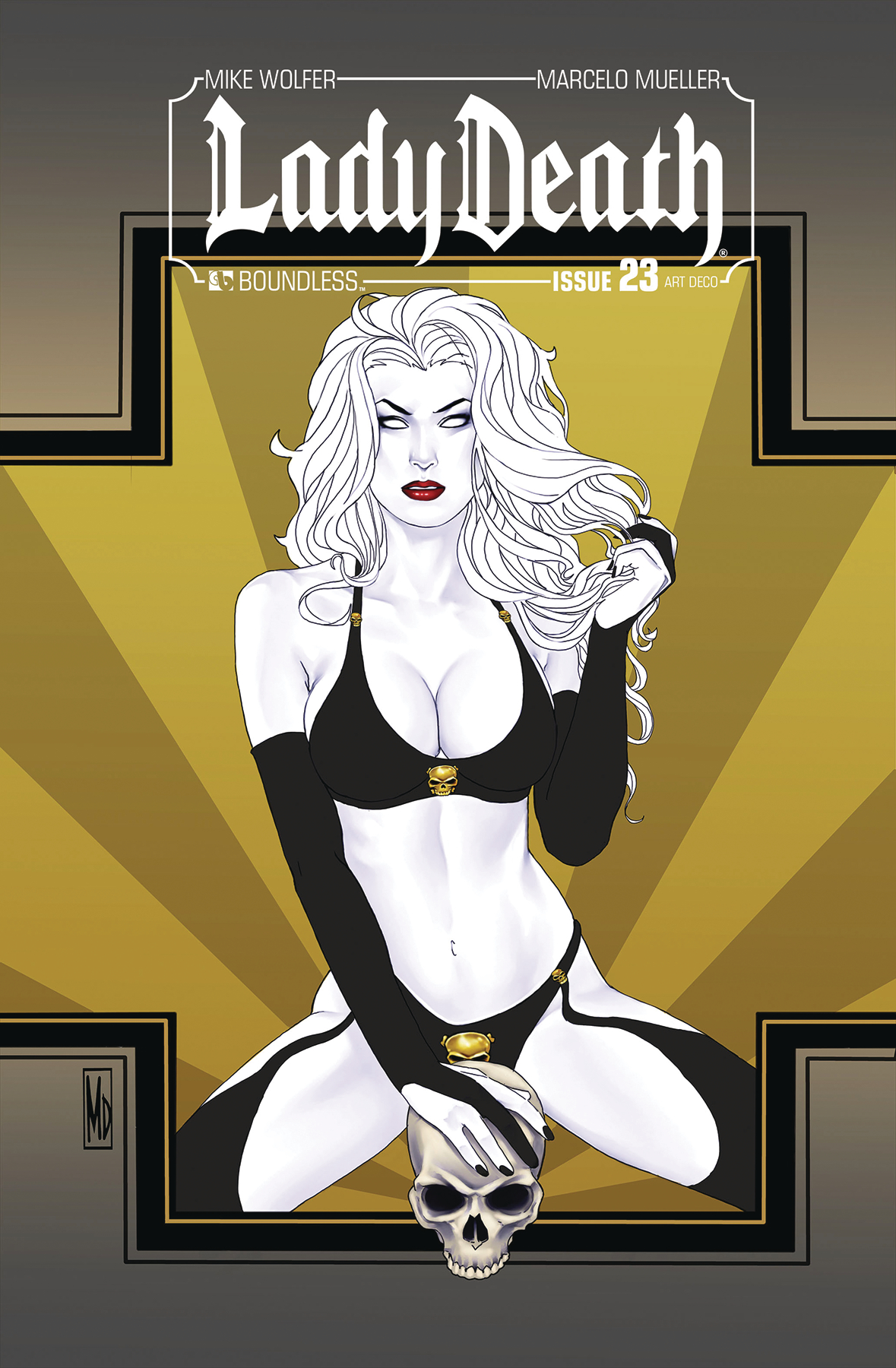 LADY DEATH #23 ART DECO VARIANT