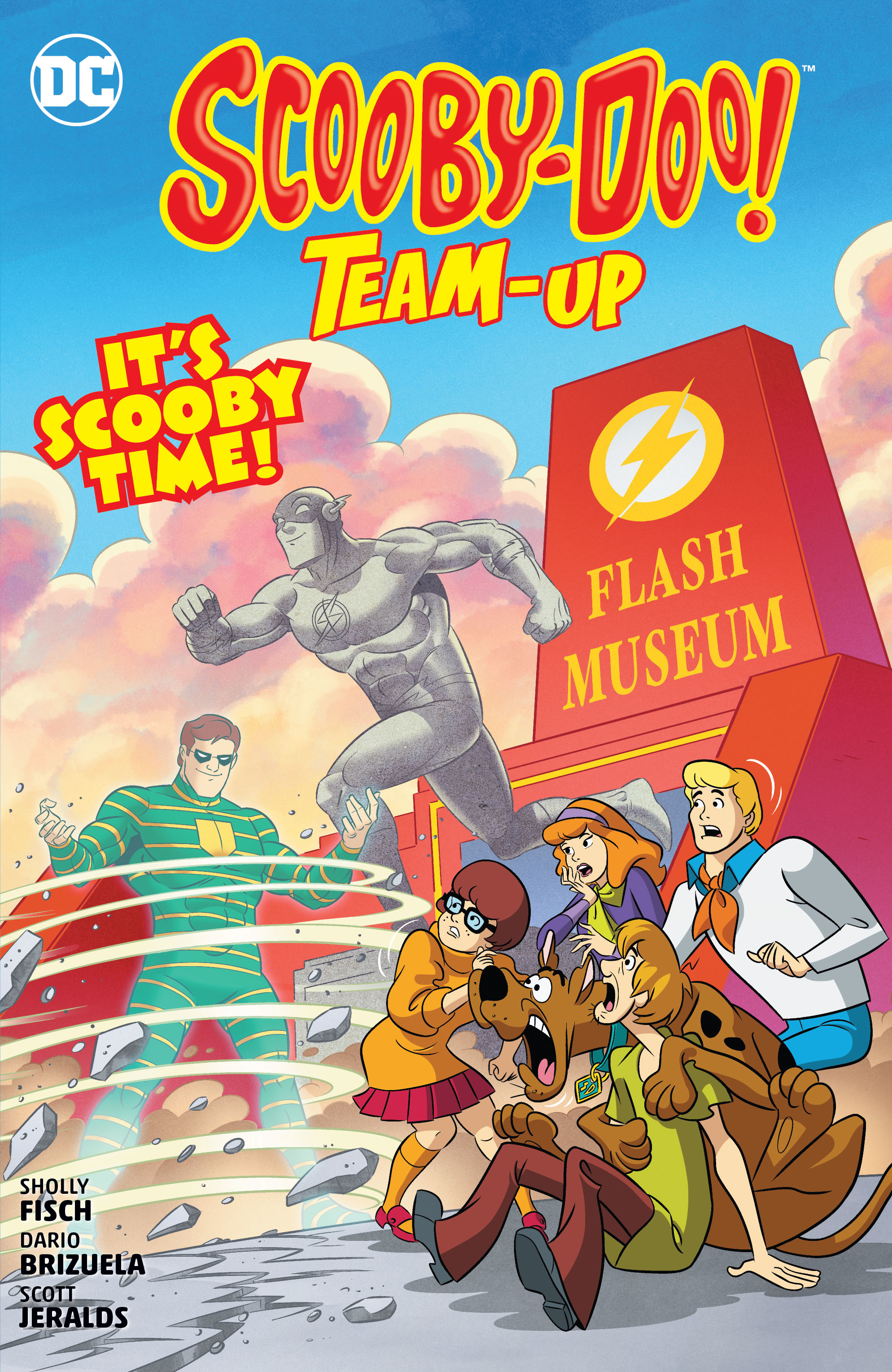 SCOOBY DOO TEAM UP ITS SCOOBY TIME TP