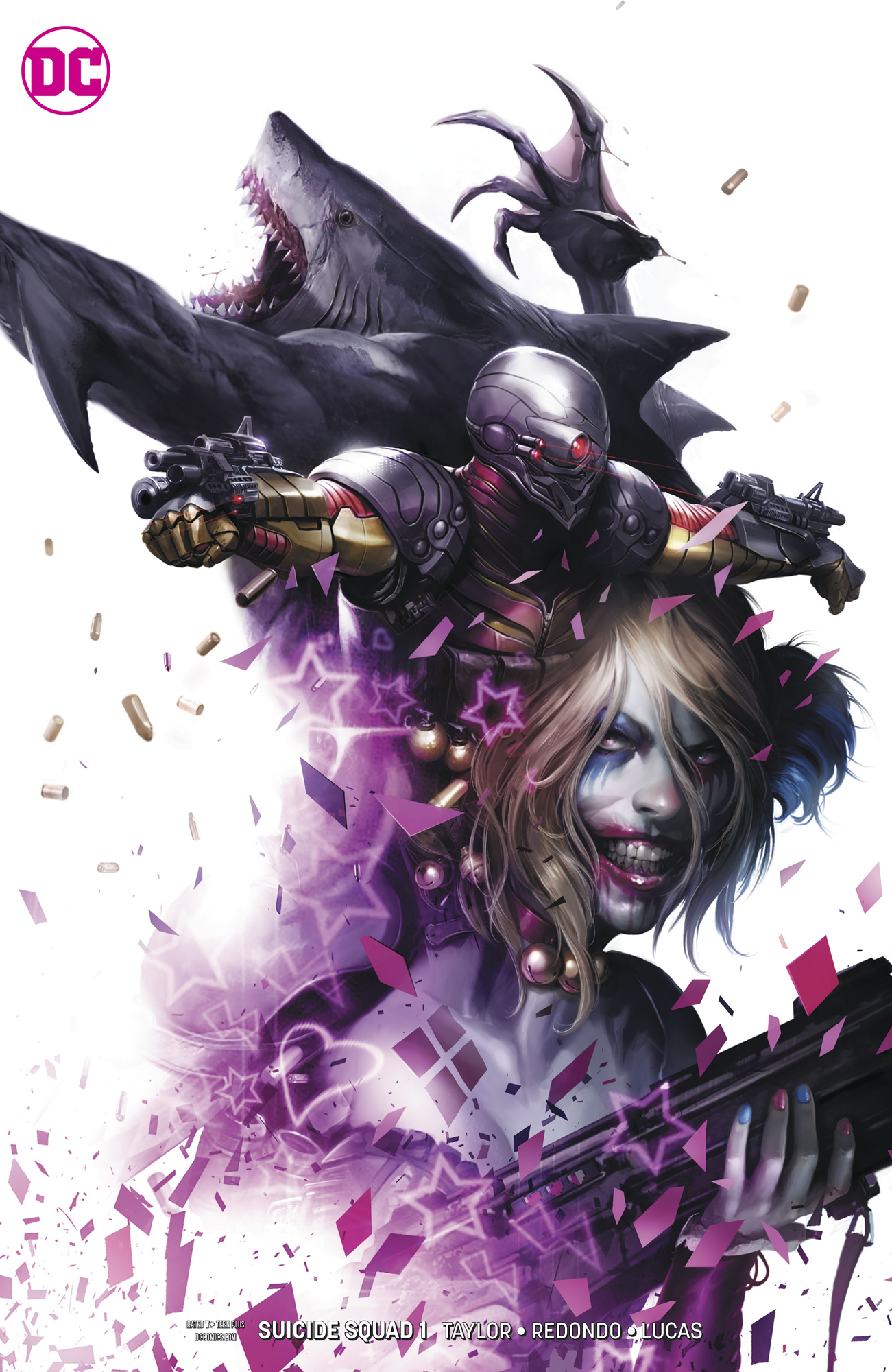 SUICIDE SQUAD #1 CARD STOCK VAR ED