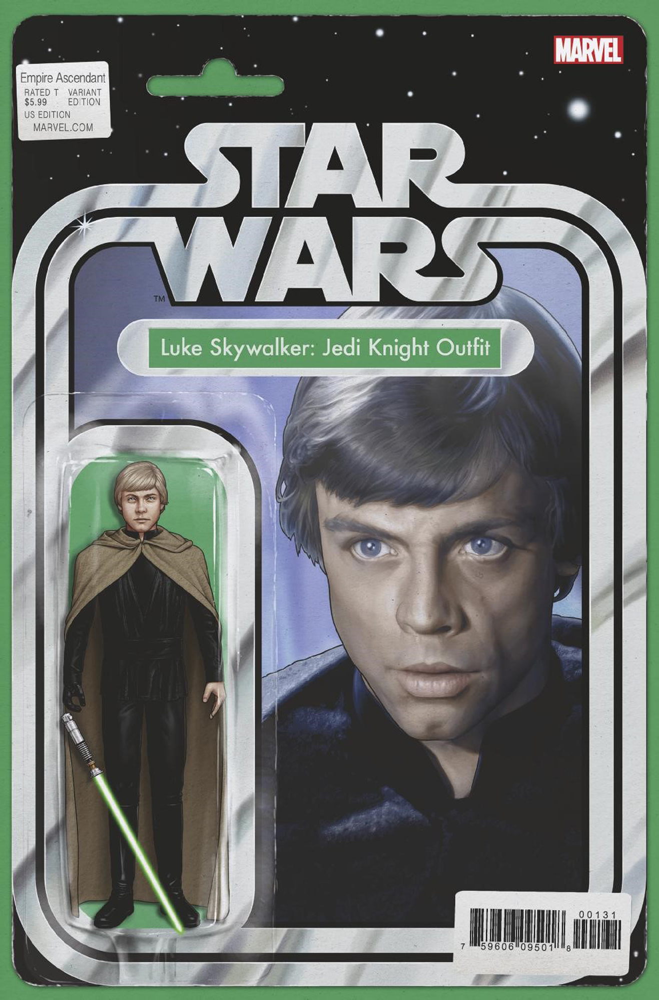STAR WARS EMPIRE ASCENDANT #1 CHRISTOPHER ACTION FIGURE VAR