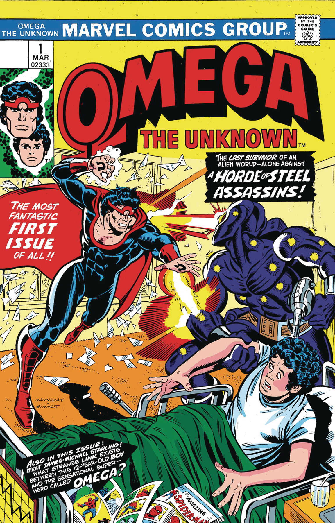 TRUE BELIEVERS ANNIHILATION OMEGA UNKNOWN #1