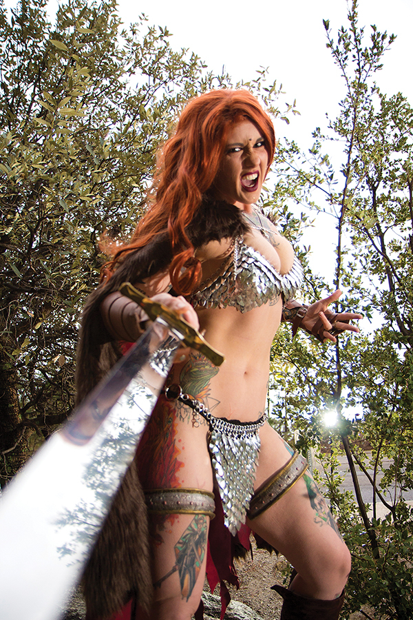 RED SONJA #9 15 COPY COSPLAY VIRGIN FOC INCV