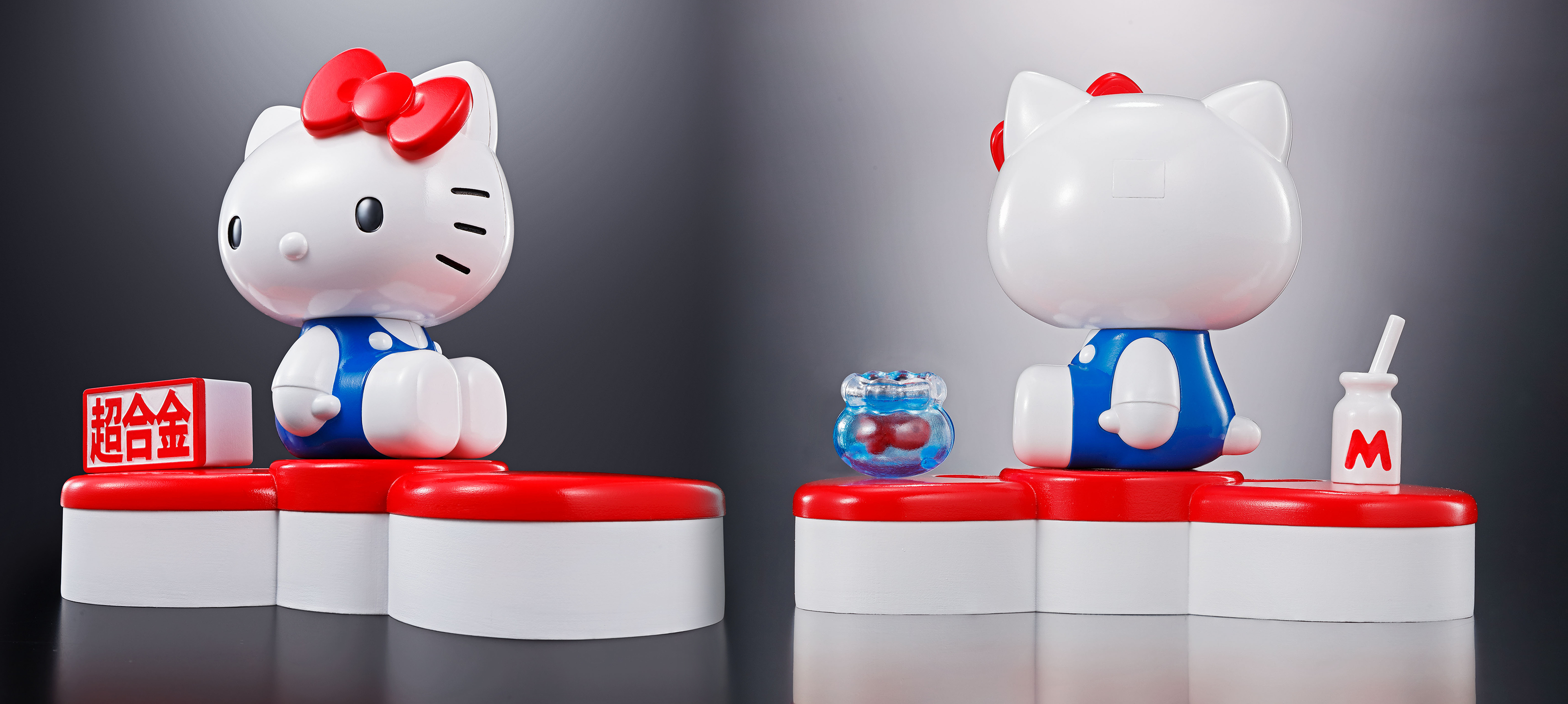 HELLO KITTY CHOGOKIN 45TH ANNIVERSARY HELLO KITTY FIG