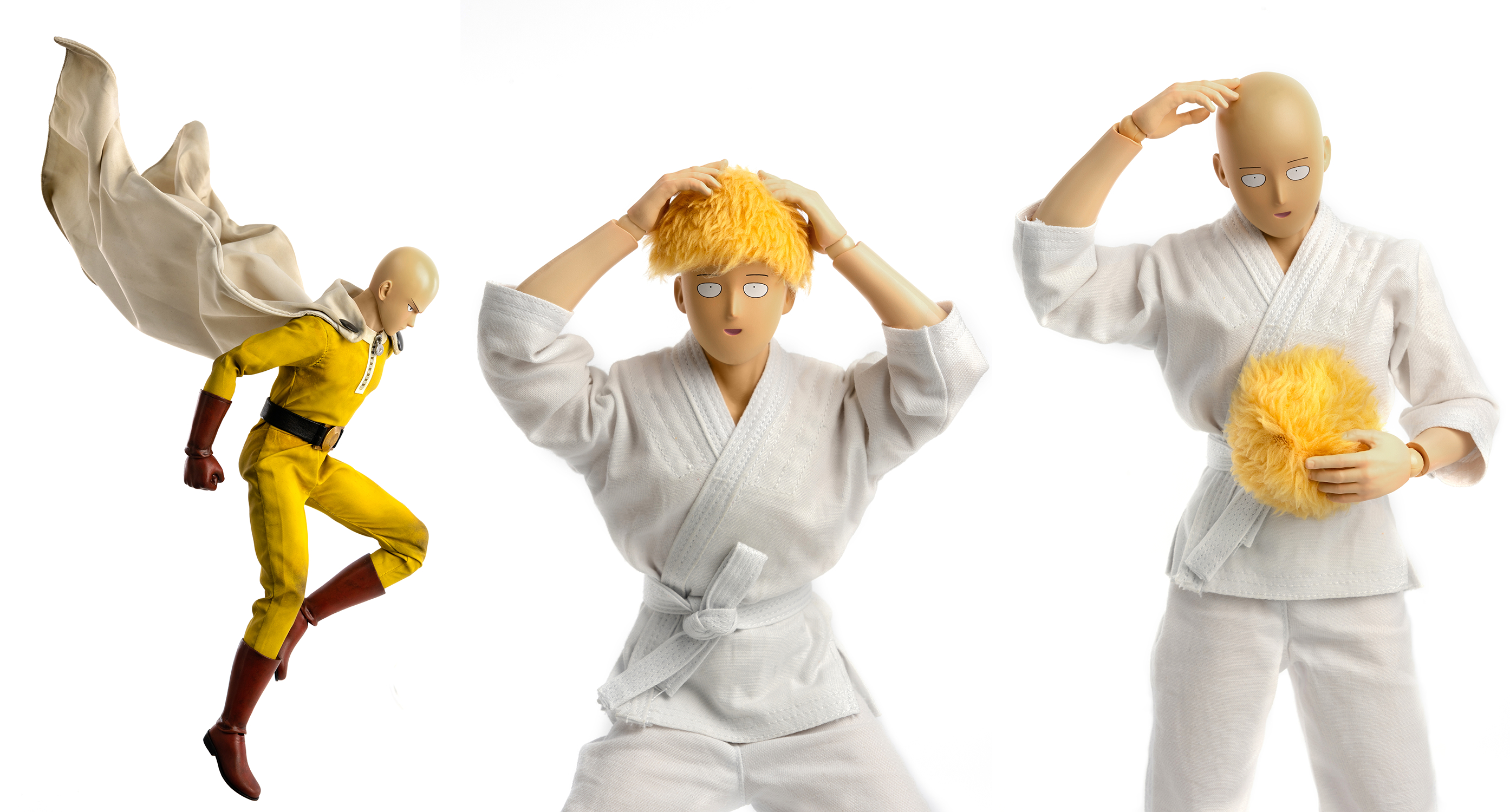 ONE PUNCH MAN SEASON 2 SAITAMA 1/6 SCALE FIG DLX ED  (C