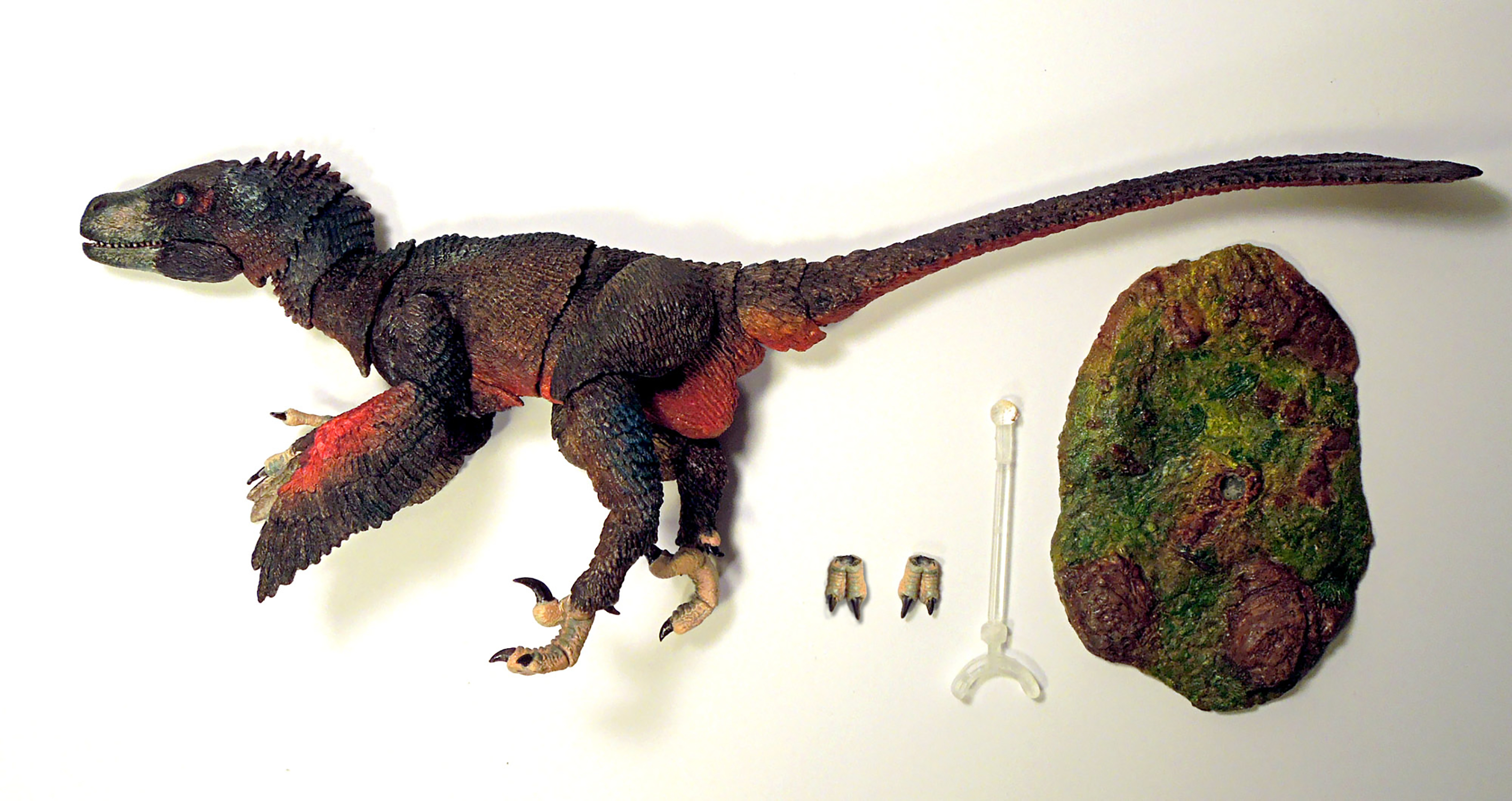 BEASTS OF MESOZOIC RAPTOR SERIES ATROCIRAPTOR 1/6 SCALE AF (