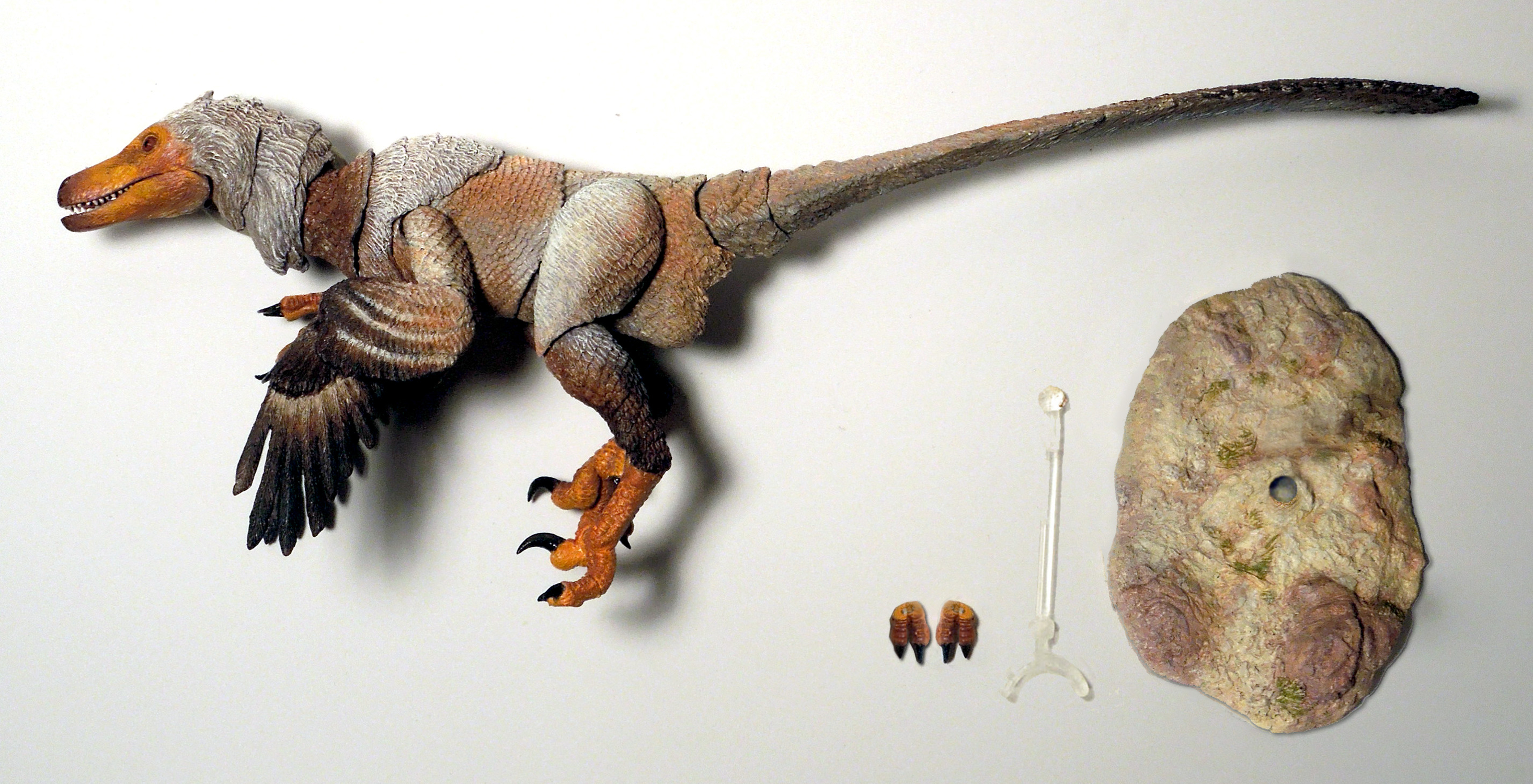 BEASTS OF MESOZOIC RAPTOR SERIES TSAAGAN 1/6 SCALE AF