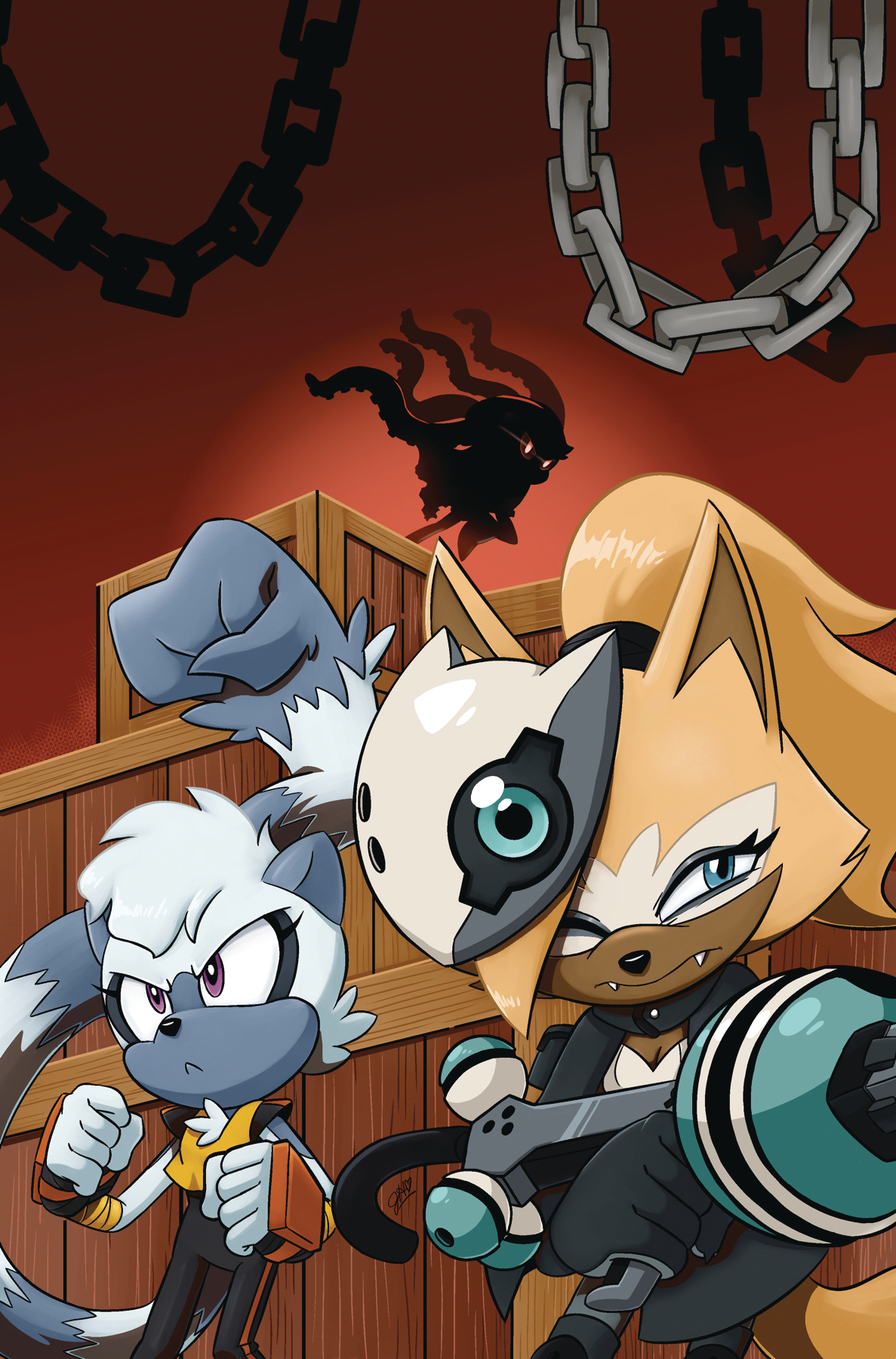 SONIC THE HEDGEHOG TANGLE & WHISPER TP VOL 01