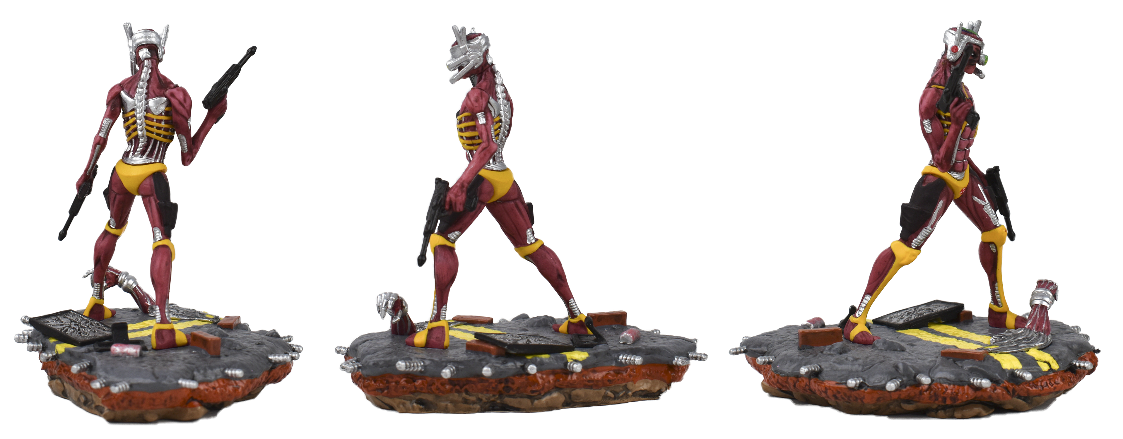 LEGACY OF BEAST IRON MAIDEN SOMEWHERE IN TIME PVC STATUE