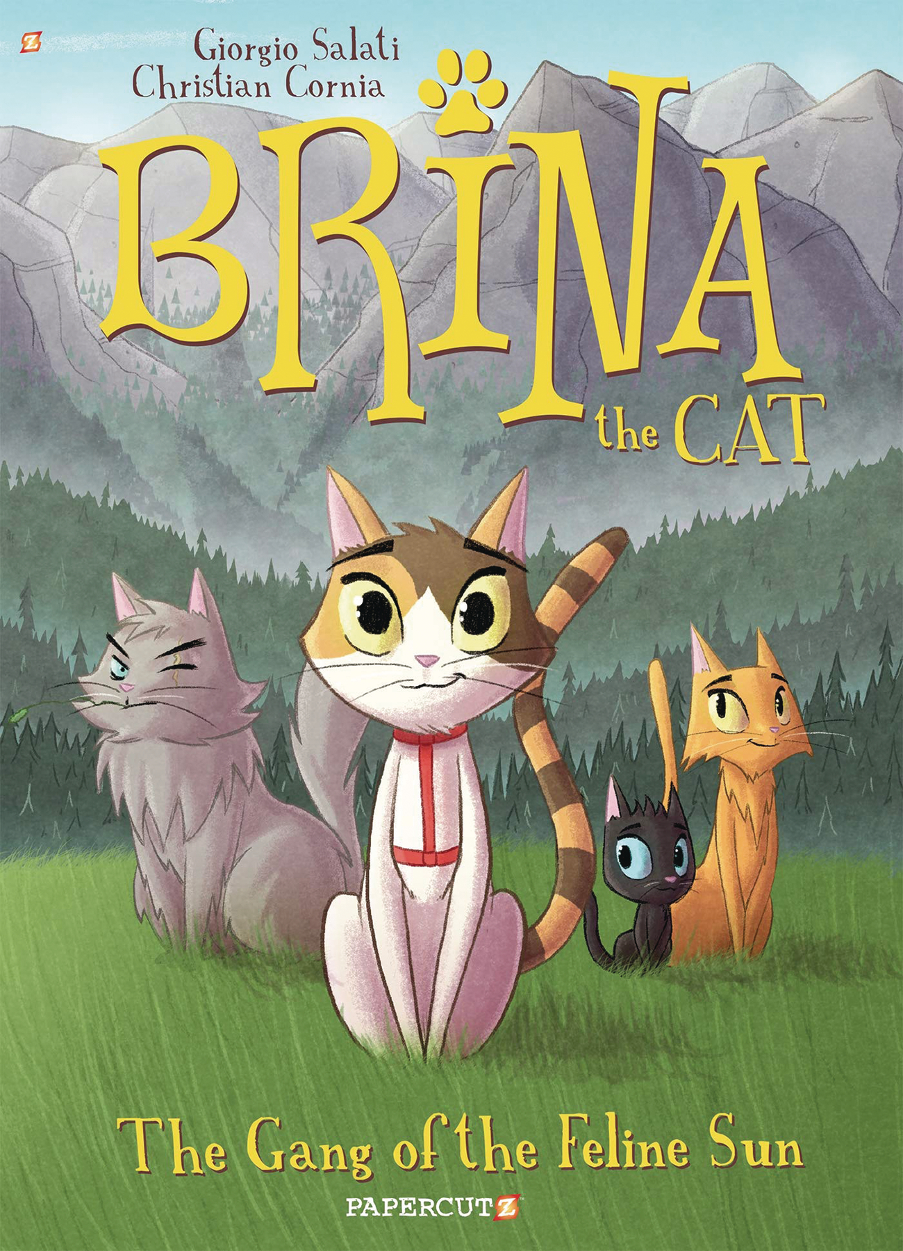 BRINA THE CAT GN VOL 01 GANG OF FELINE SUN