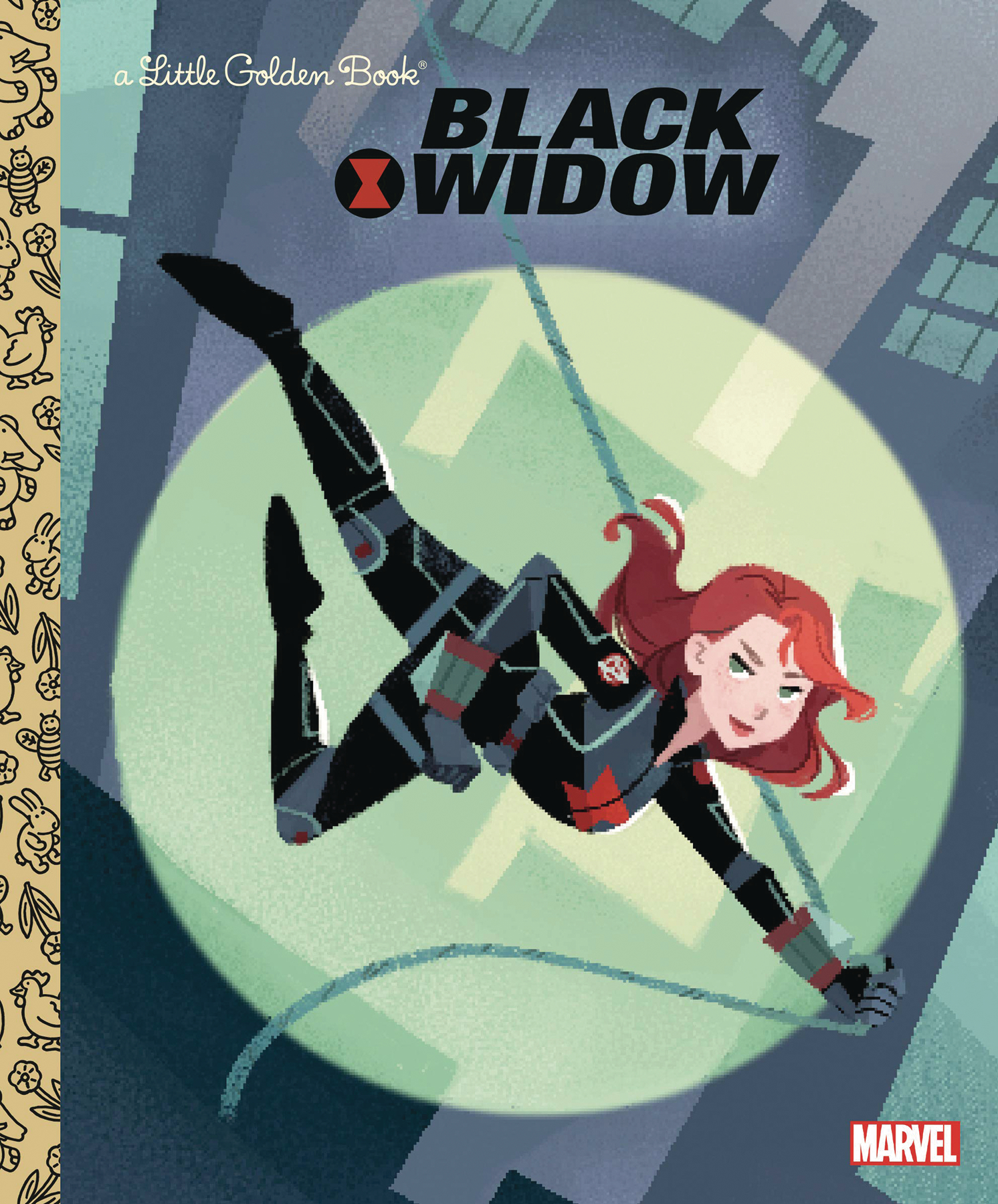 BLACK WIDOW LITTLE GOLDEN BOOK