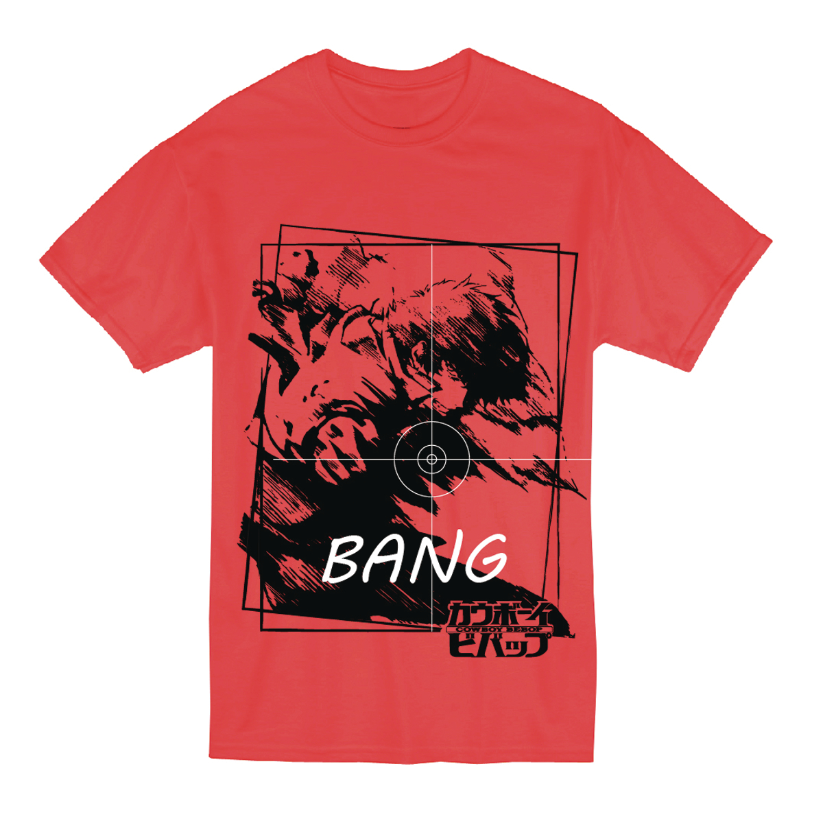 COWBOY BEBOP SPIKE RED T/S XL
