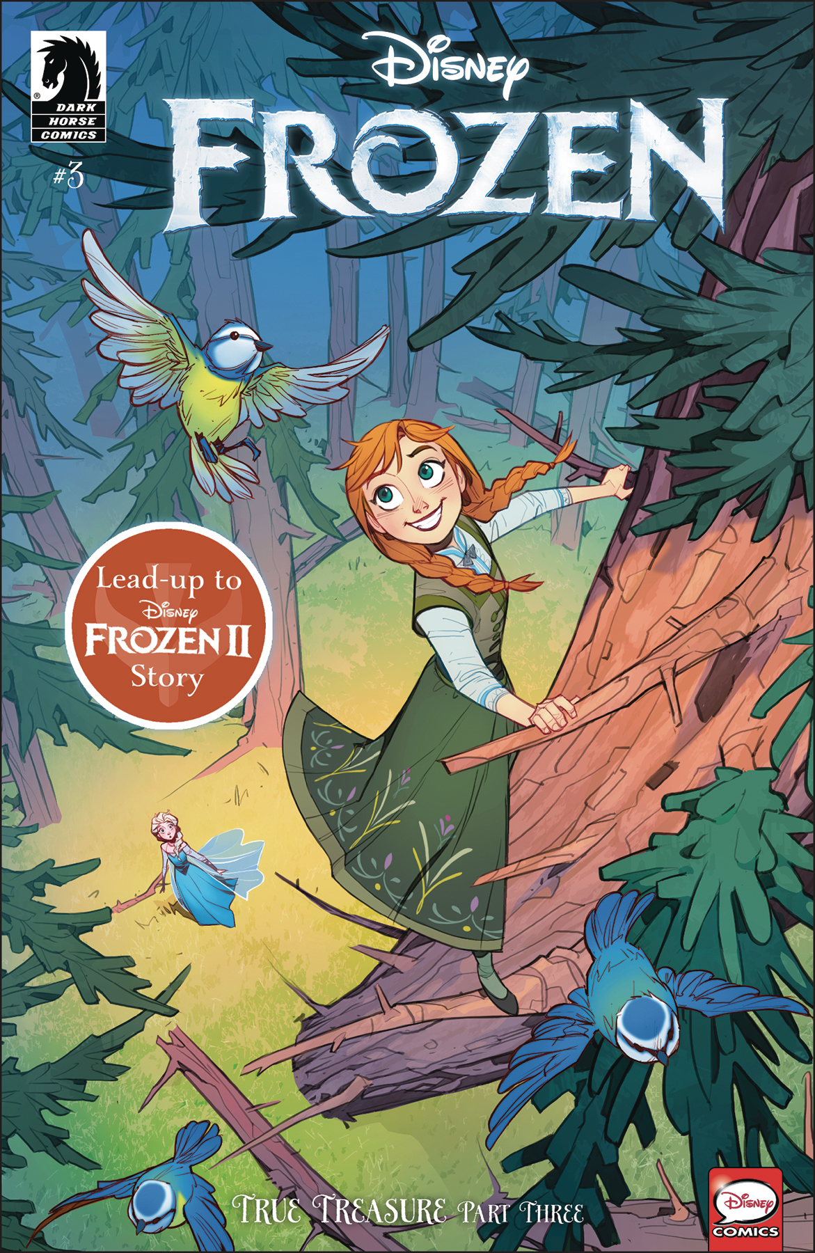DISNEY FROZEN TRUE TREASURE #3 (OF 3) CVR A PETROVICH