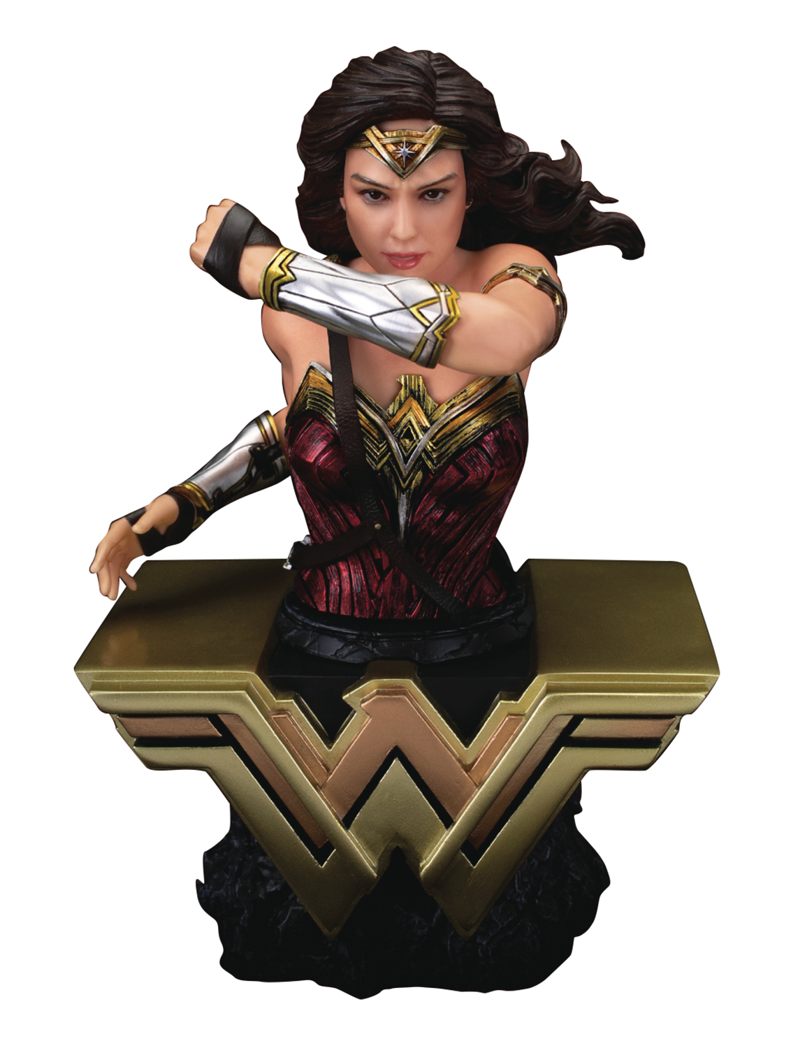 JUSTICE LEAGUE BUST SER WONDER WOMAN PVC BUST