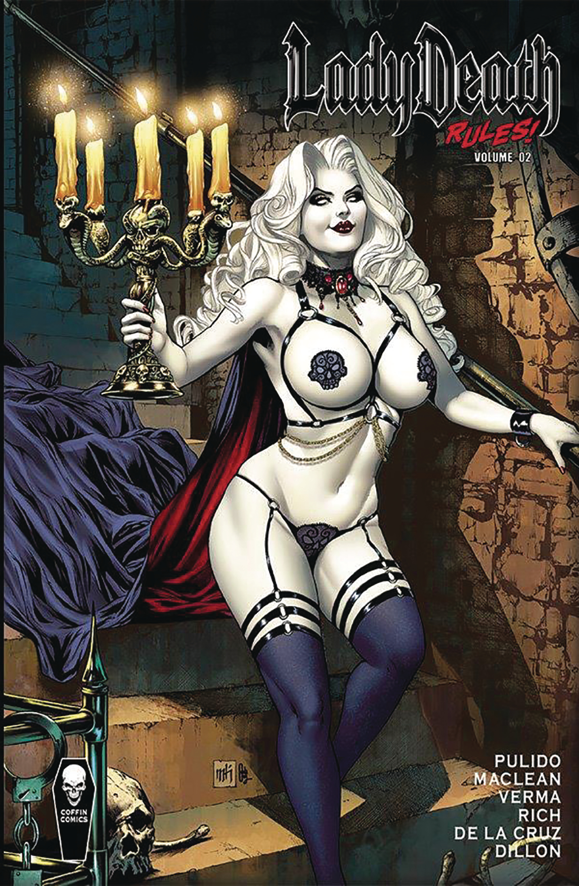 LADY DEATH RULES HC VOL 02 SGN ED (MR)