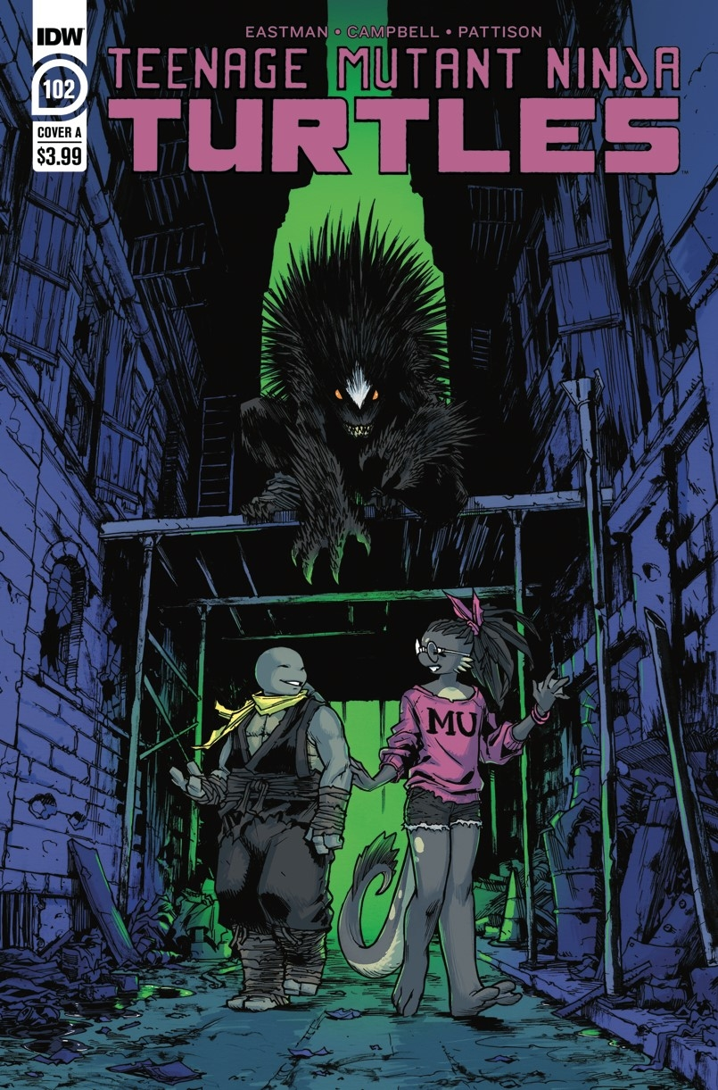 TMNT ONGOING #102 CVR A CAMPBELL
