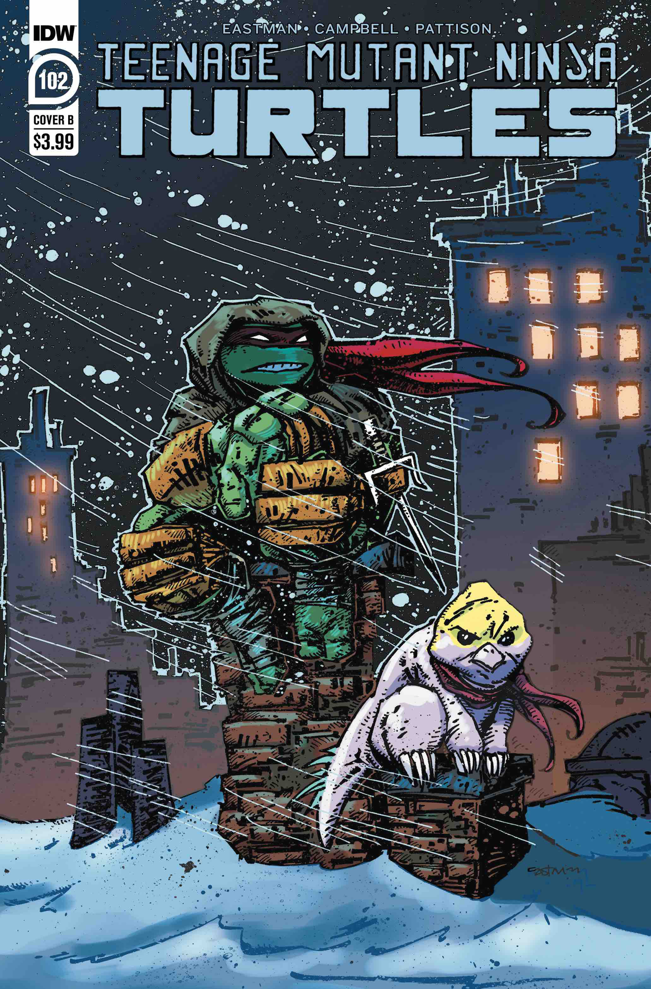 TMNT ONGOING #102 CVR B EASTMAN