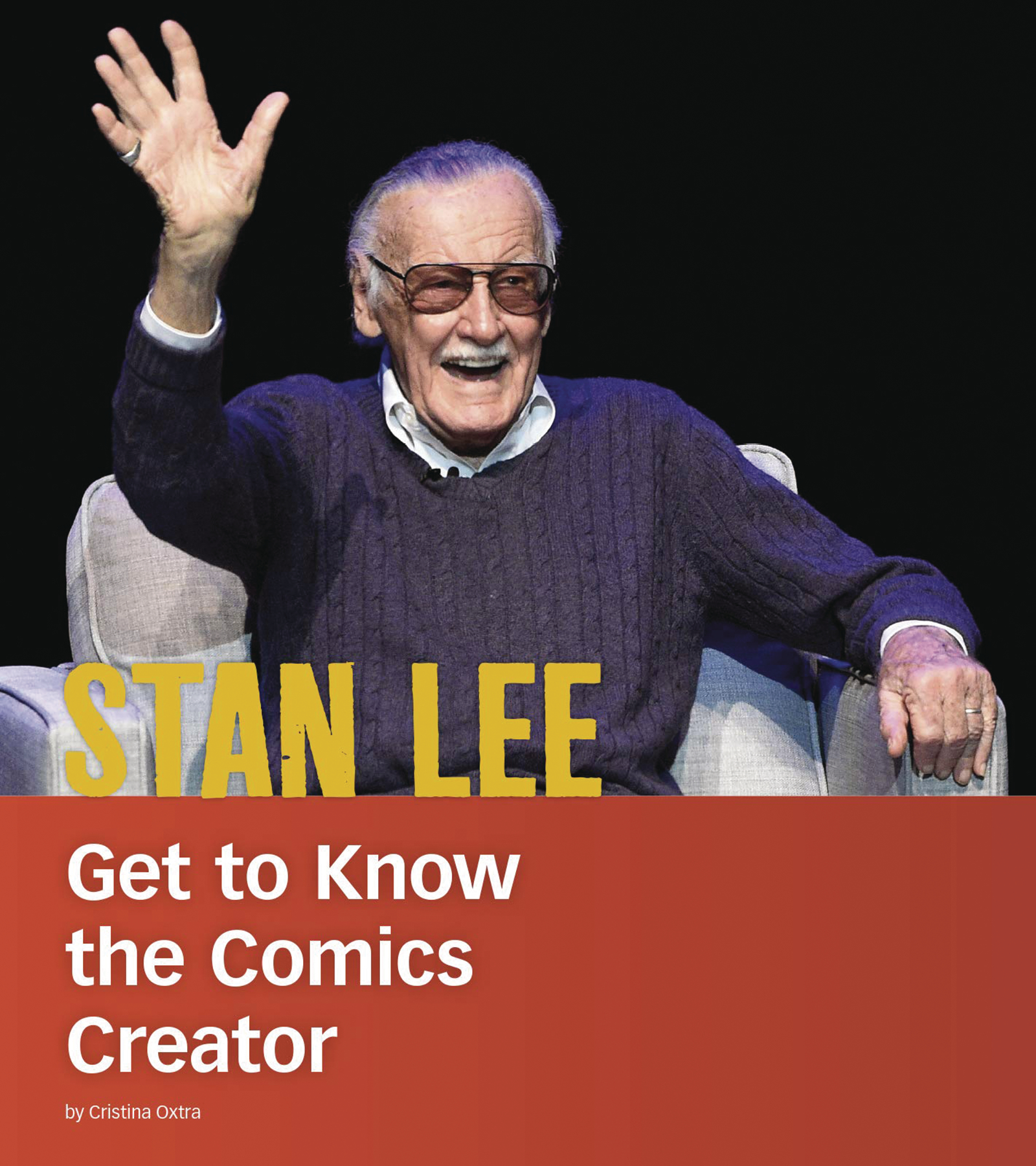 STAN LEE GET TO KNOW COMICS CREATOR SC