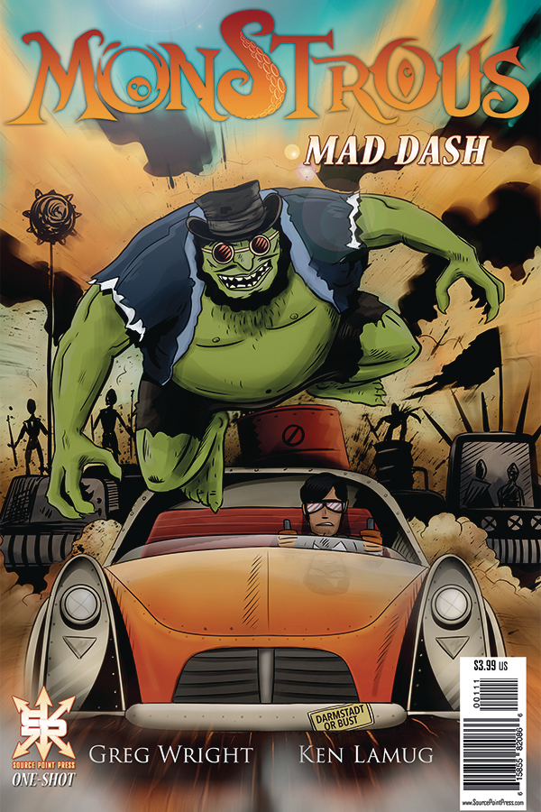 MONSTROUS MAD DASH ONE-SHOT