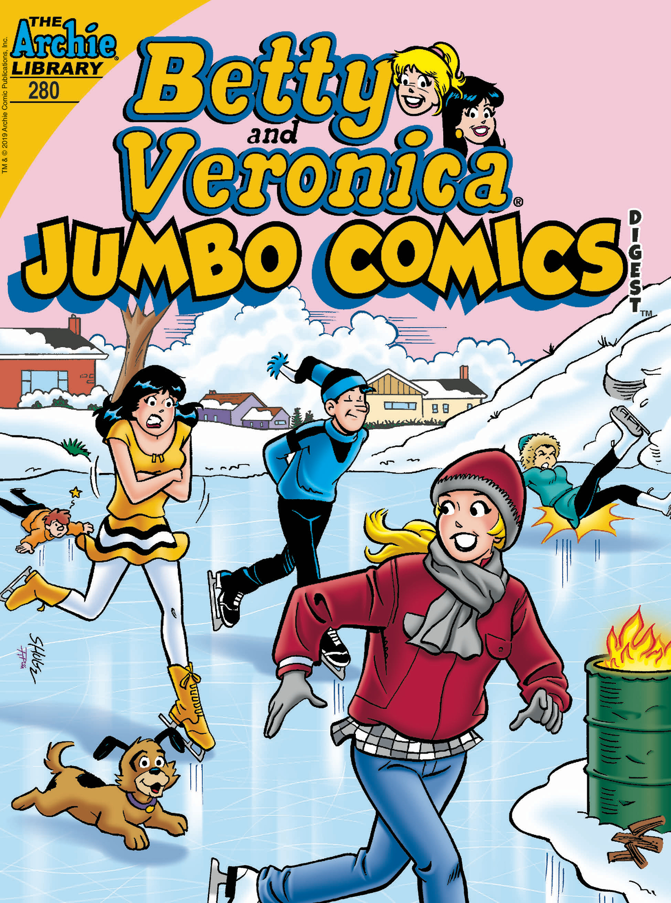 BETTY & VERONICA JUMBO COMICS DIGEST #280