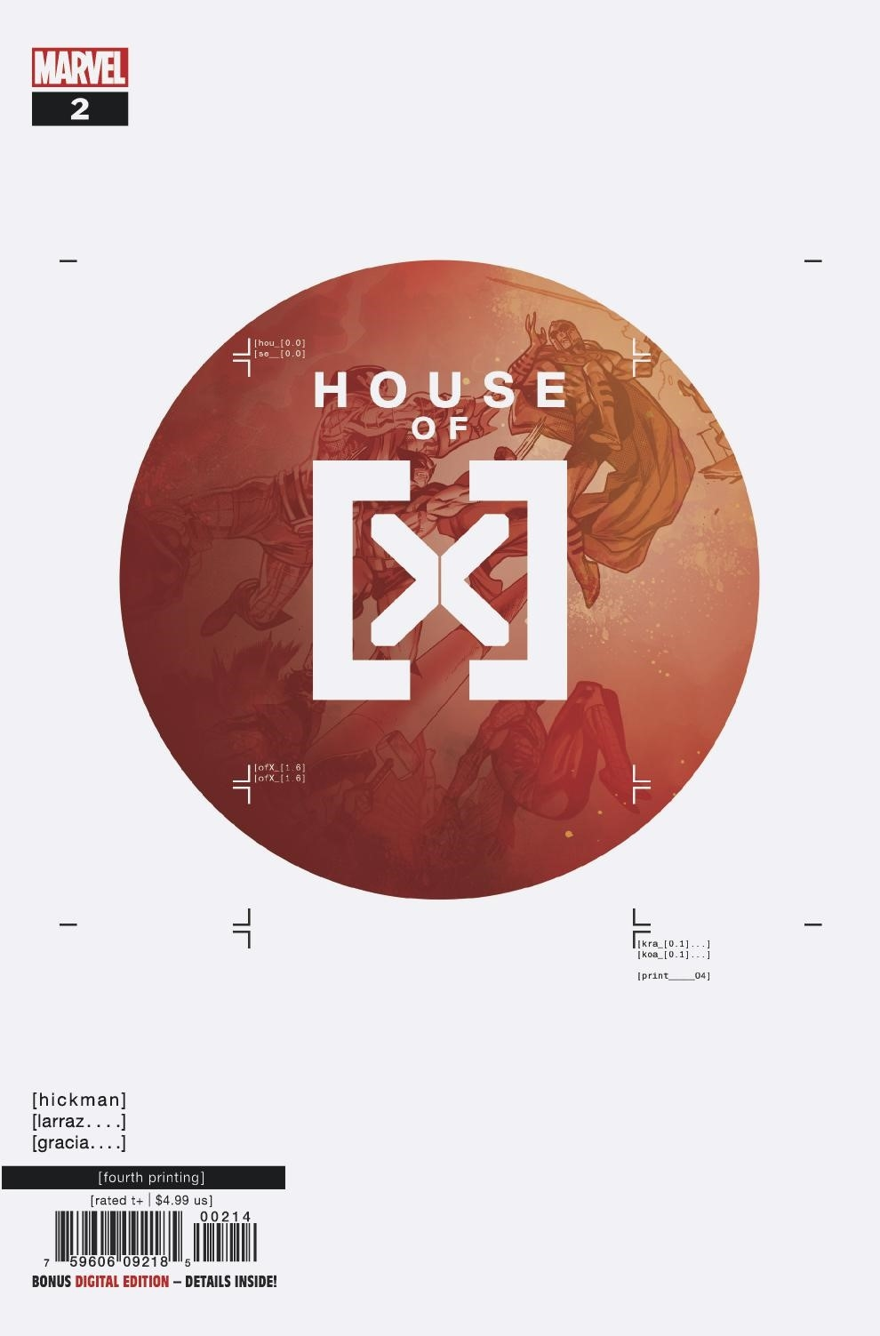HOUSE OF X #2 (OF 6) 4TH PTG LARRAZ VAR