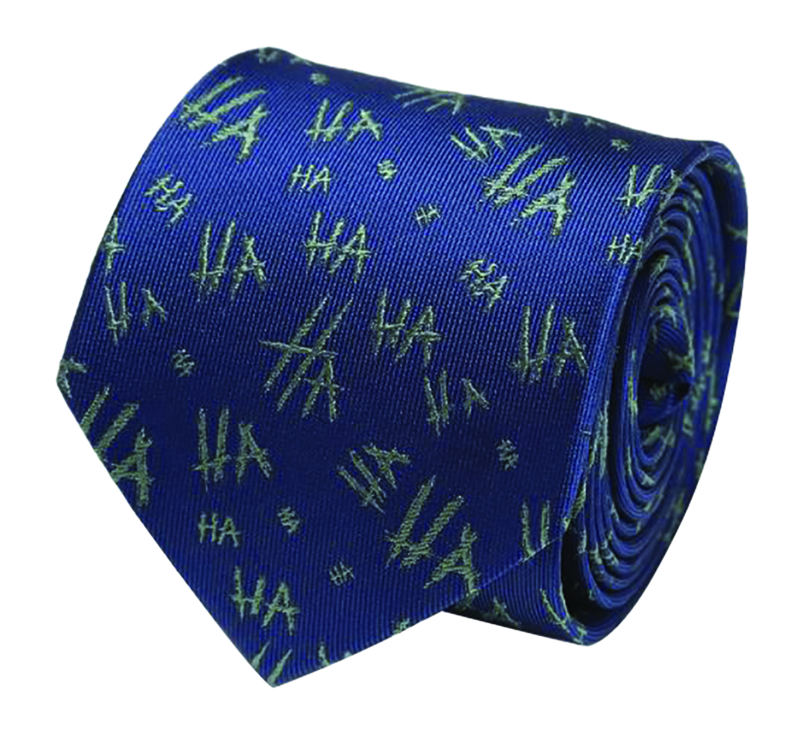 DC THE JOKER HA HA NAVY SILK TIE