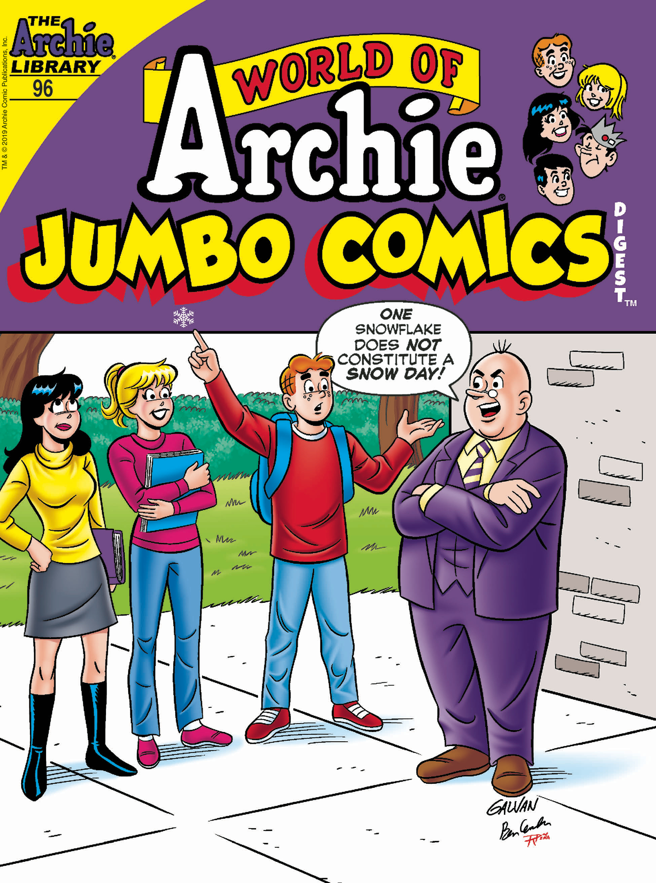 WORLD OF ARCHIE JUMBO COMICS DIGEST #96