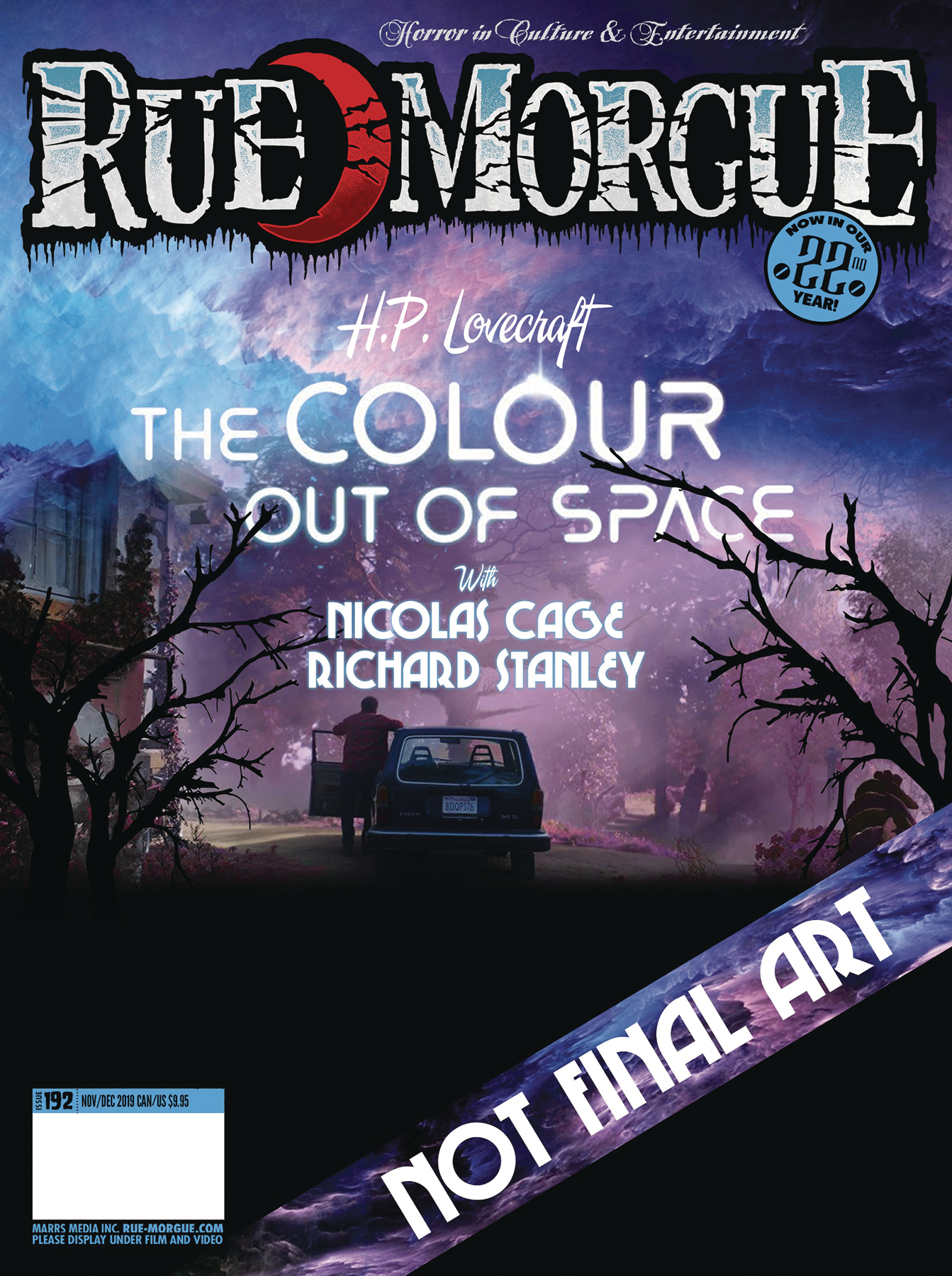 RUE MORGUE MAGAZINE #192 (MR)