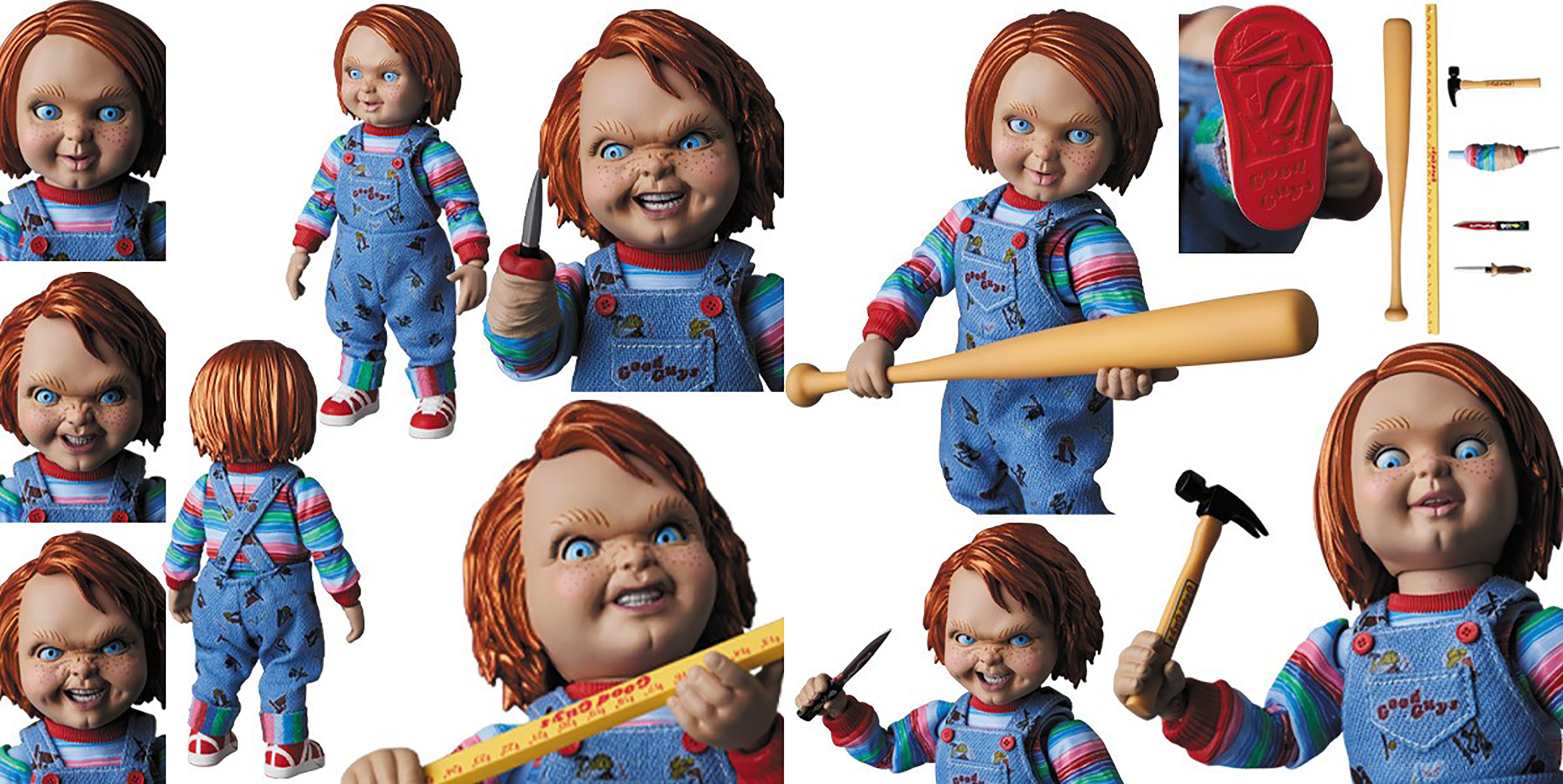 CHILDS PLAY 2 GOOD GUY DOLL MAFEX AF