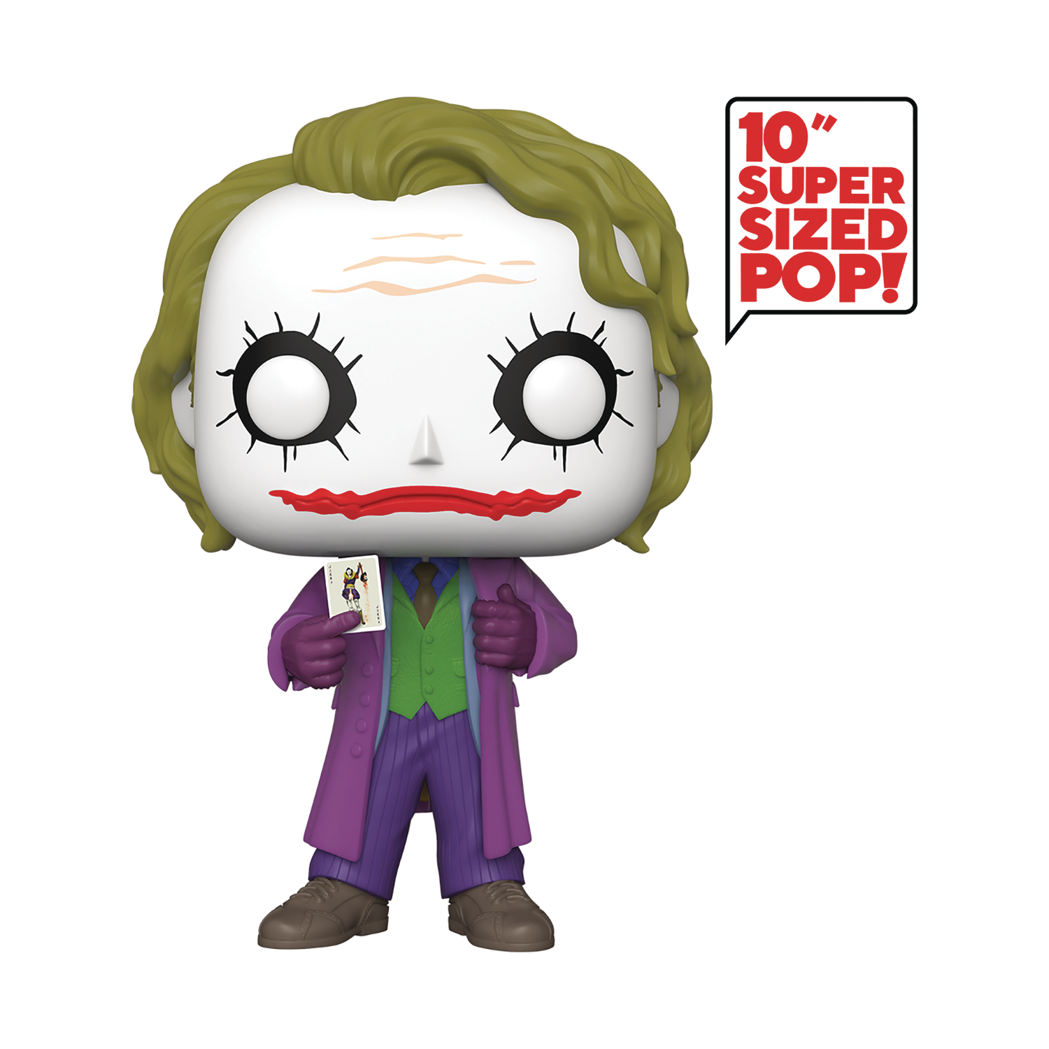 POP MOVIES DC 10IN JOKER VINYL FIGURE